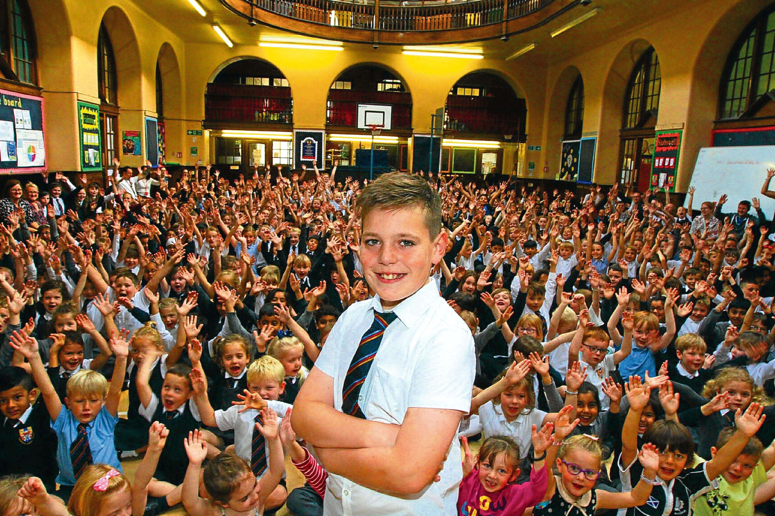 Cameron McMurchie of Clepington Primary