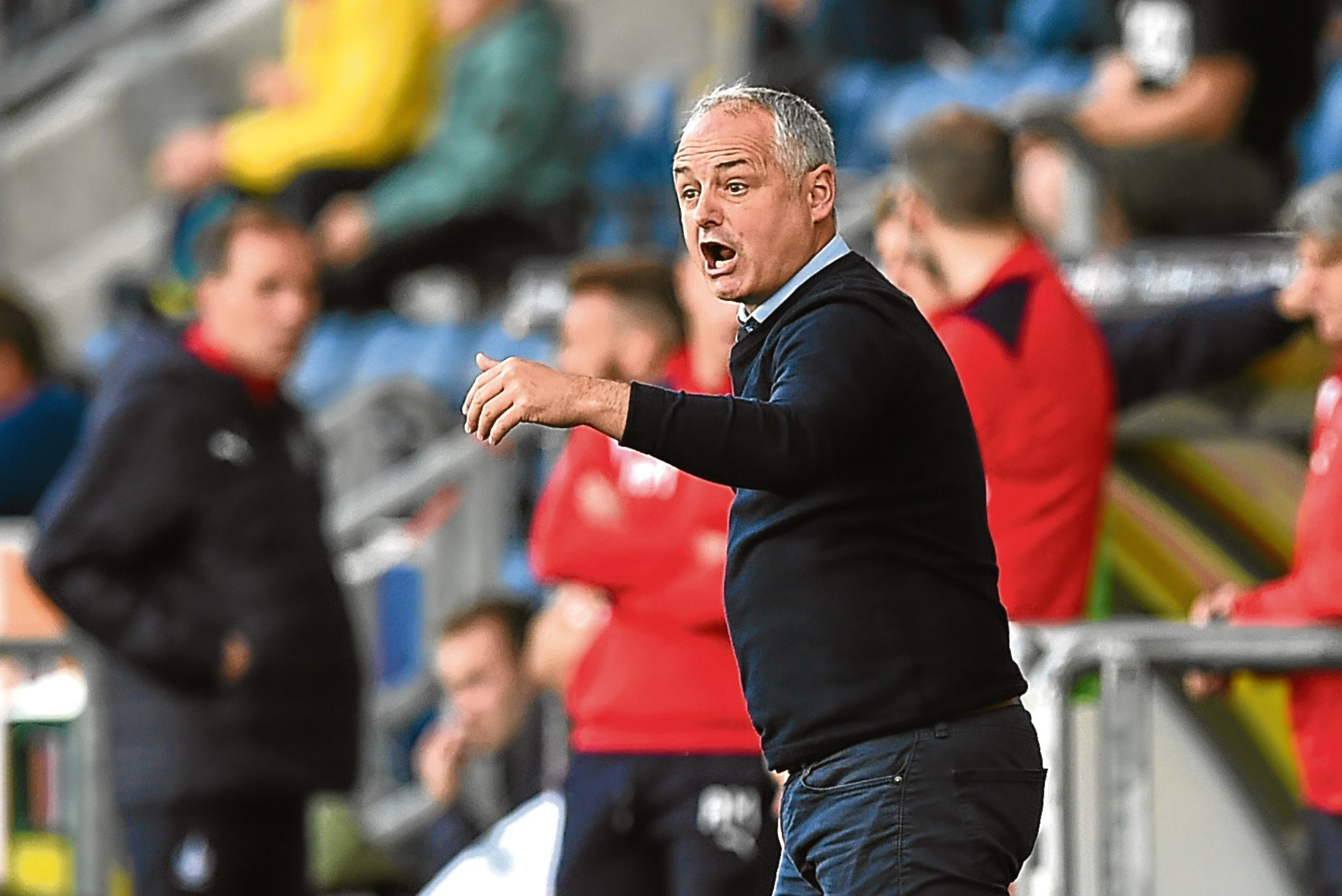 Dundee United manager, Ray McKinnon