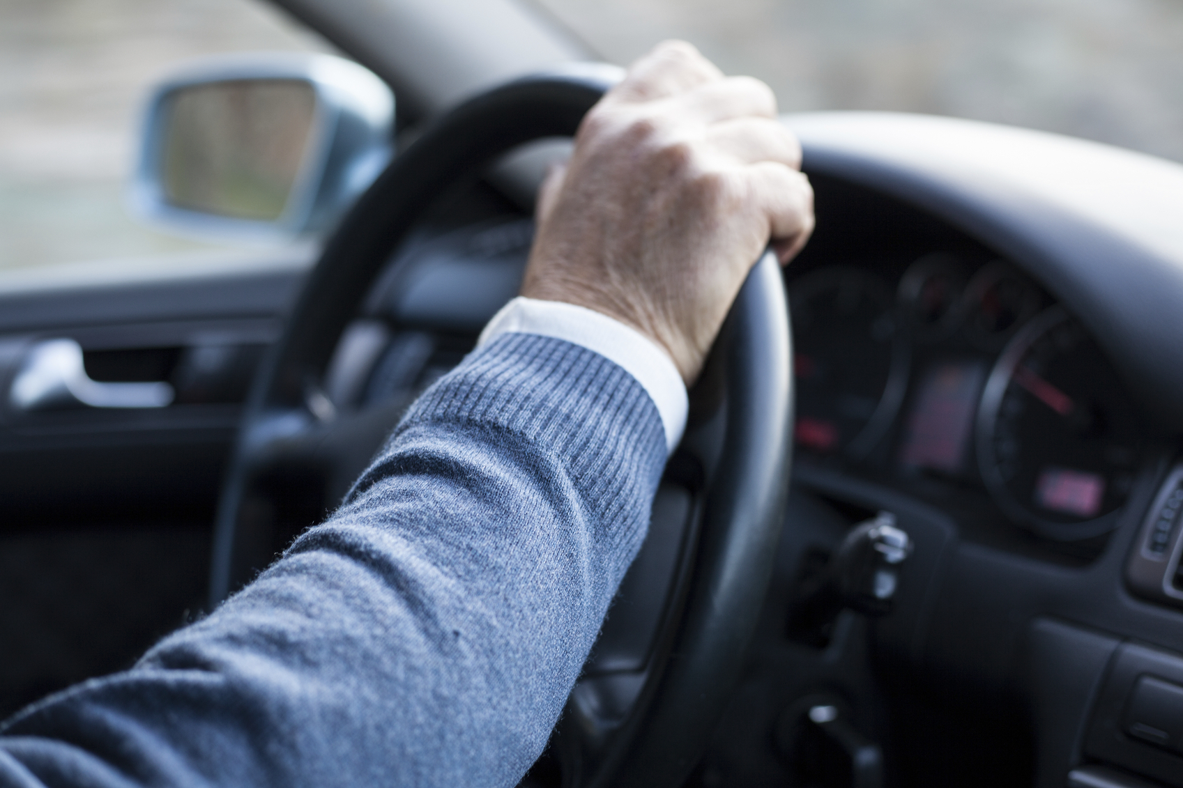 Elderly driver.