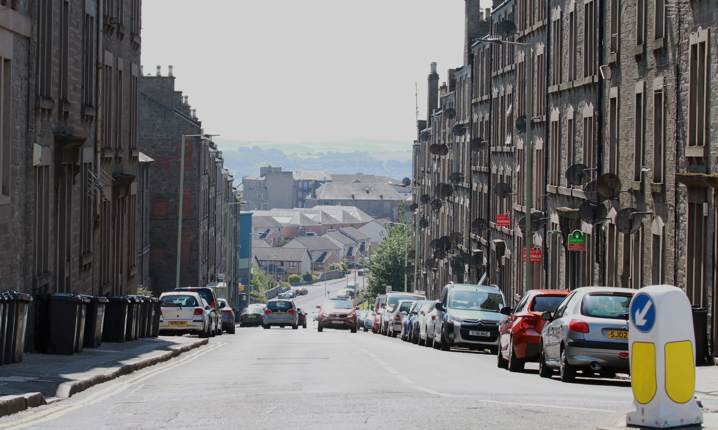 It's alleged the offences took place in Provost Road, Dundee. (Image courtesy of Google Maps).