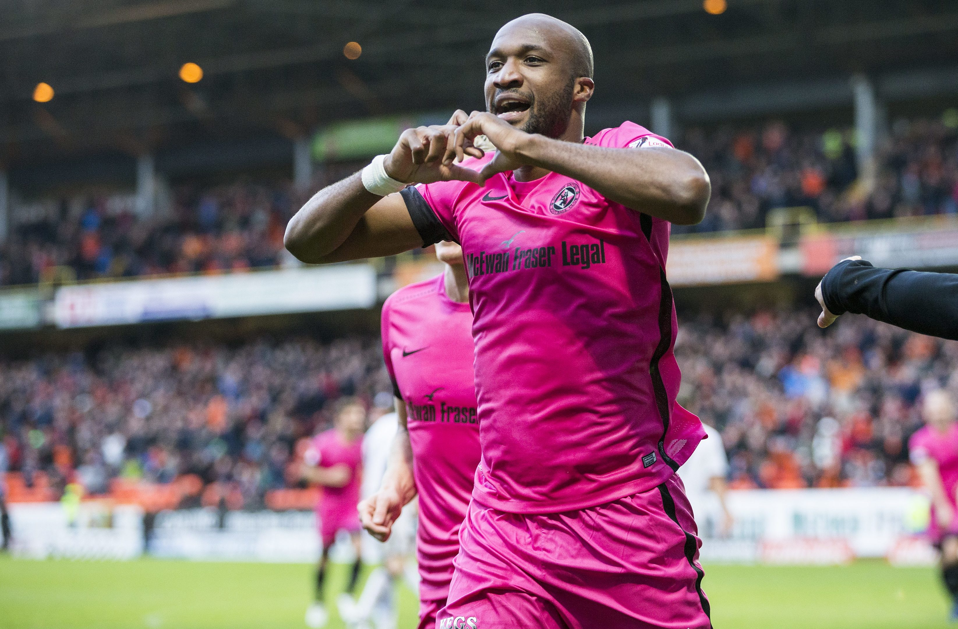 Dundee United defender William Edjenguele.