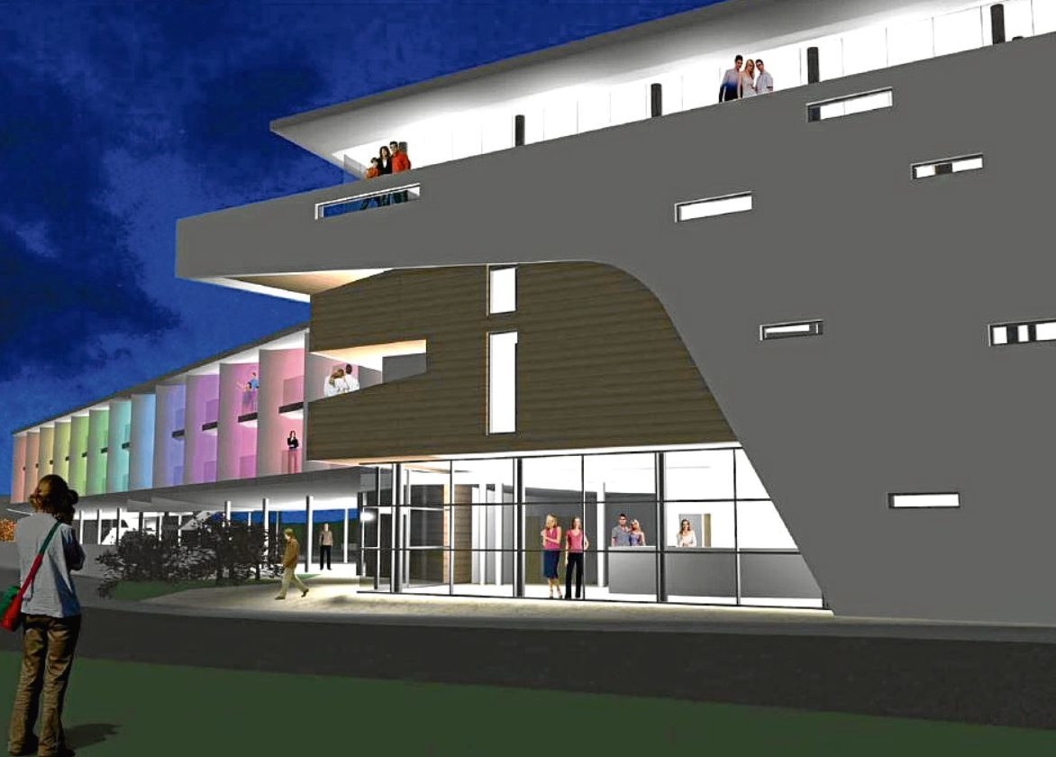 An artist's impression of what the new hotel could look like. It's said the venue would offer up scenic Tay views.