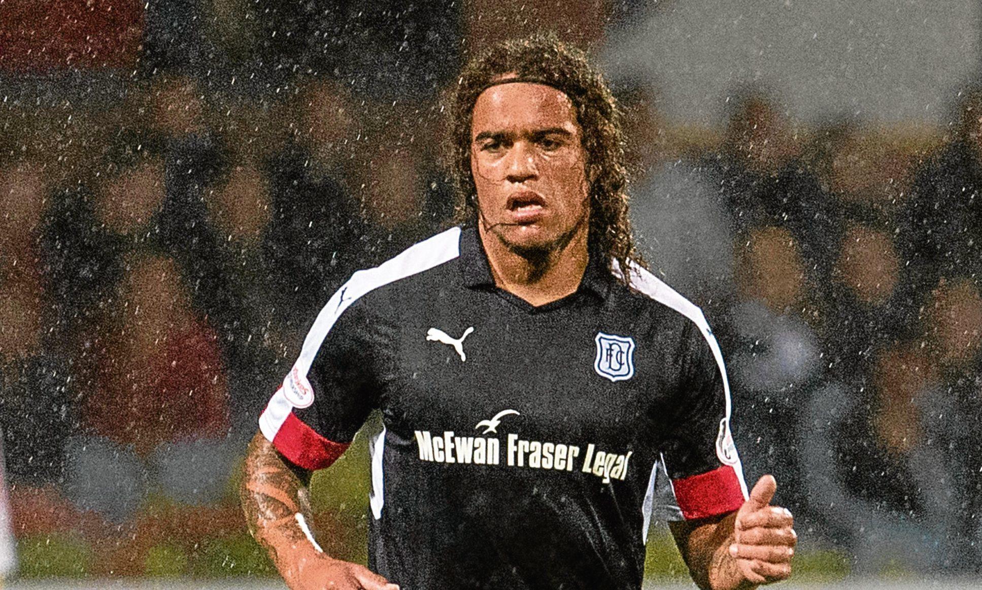 Yordi Teijsse in action for Dundee