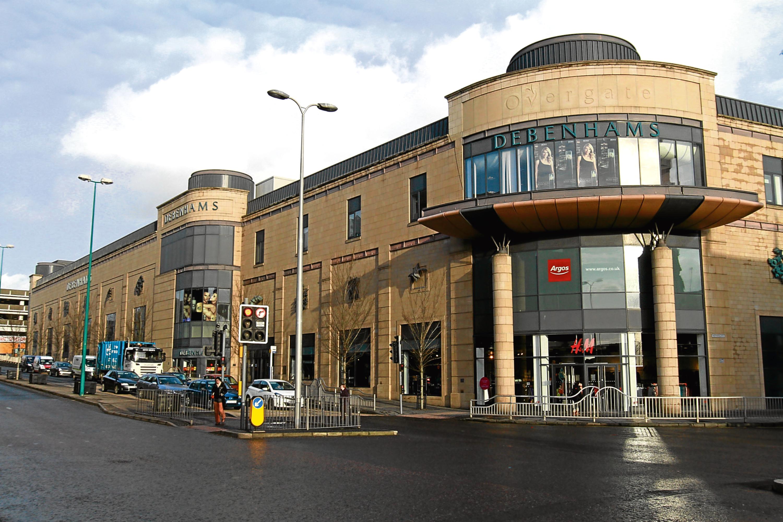 Debenhams at the Overgate Shopping Centre