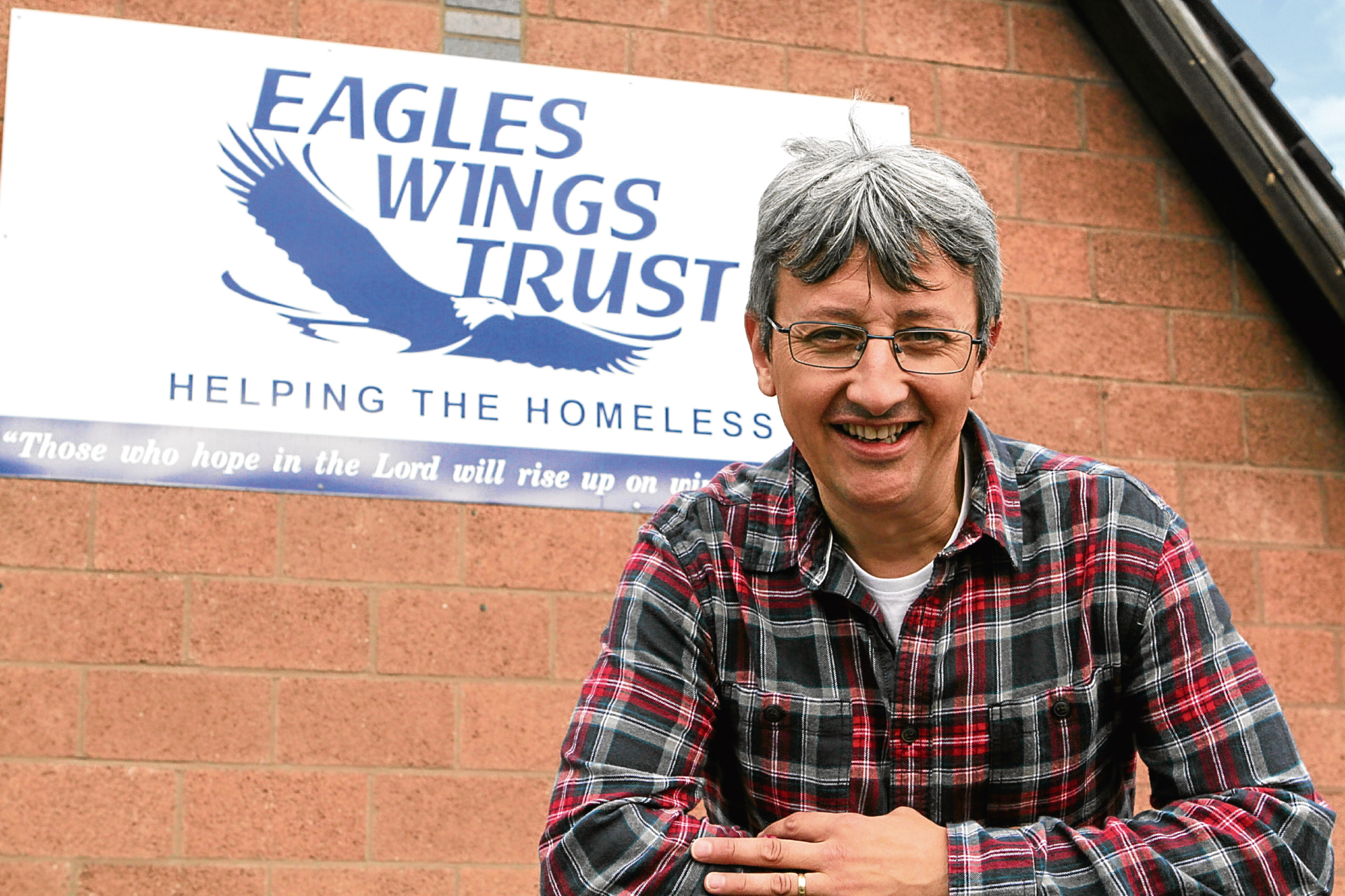 Mike Cordiner, of the Eagles Wings Trust, has spoken about the harsh realities of life on the streets for the city's addicts.