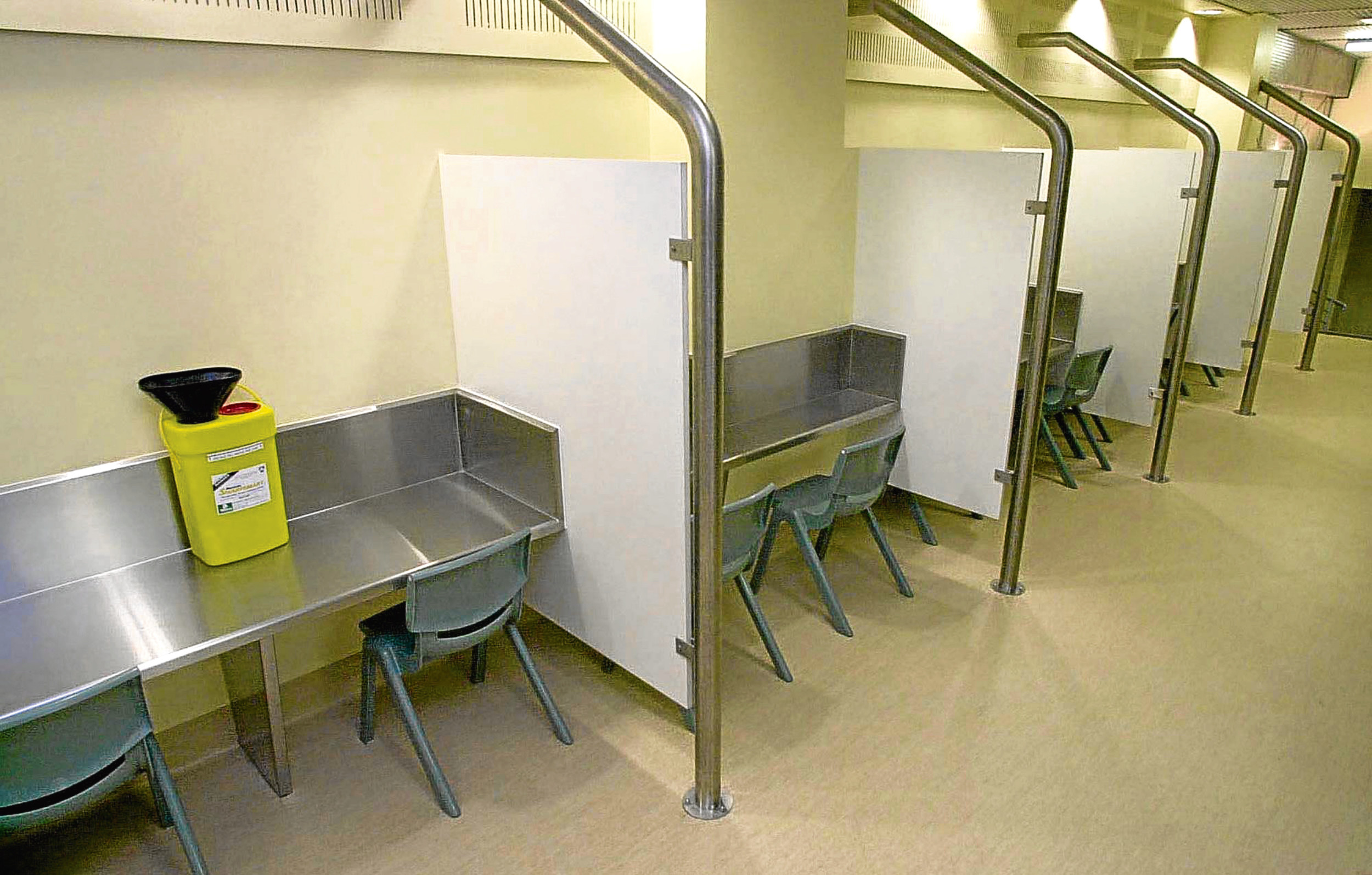 An injecting centre for drug addicts in Sydney. A similar scheme is could be considered in Dundee