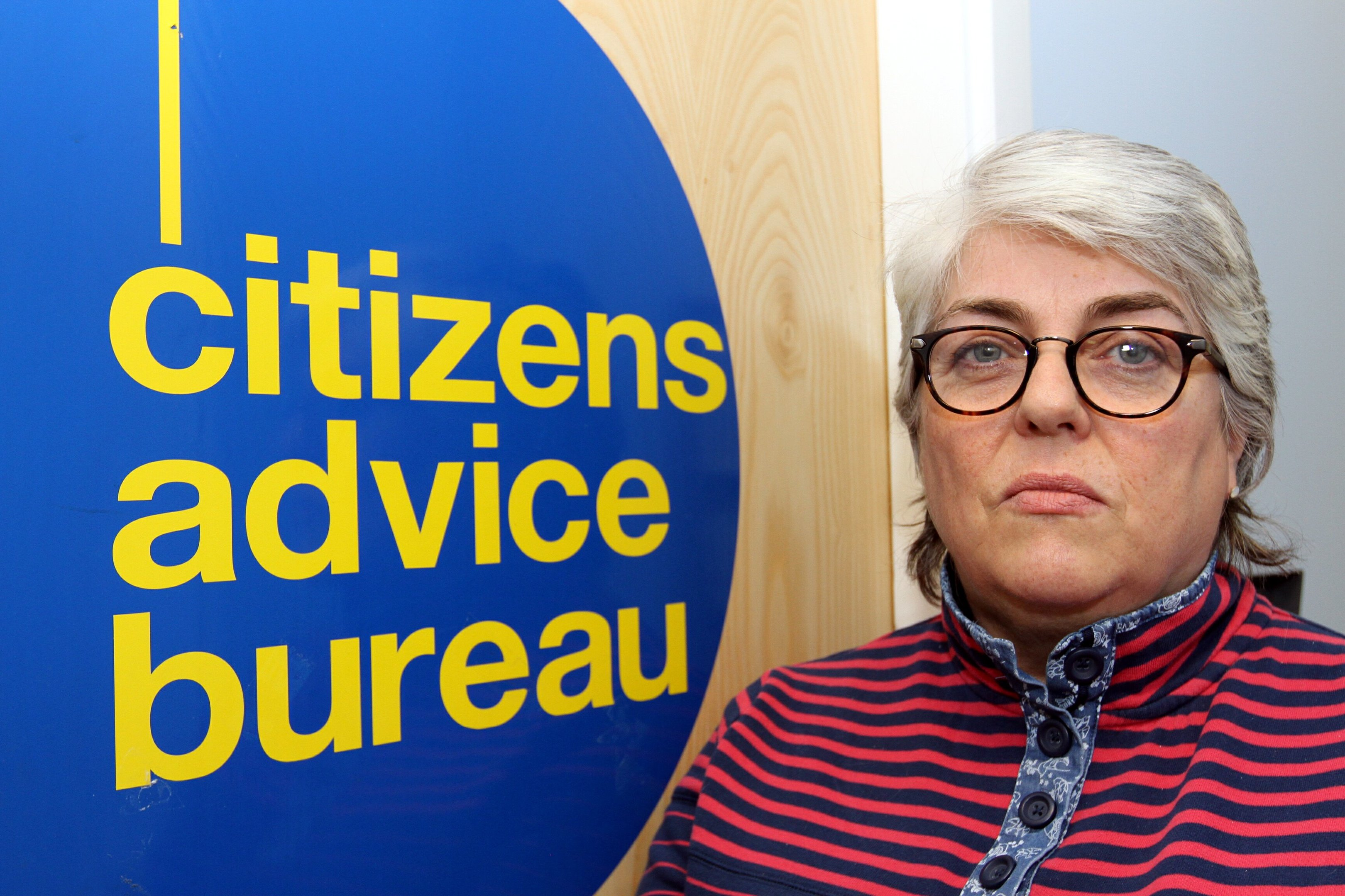 Mary Kinninmouth of the Dundee Citizens Advice Bureau