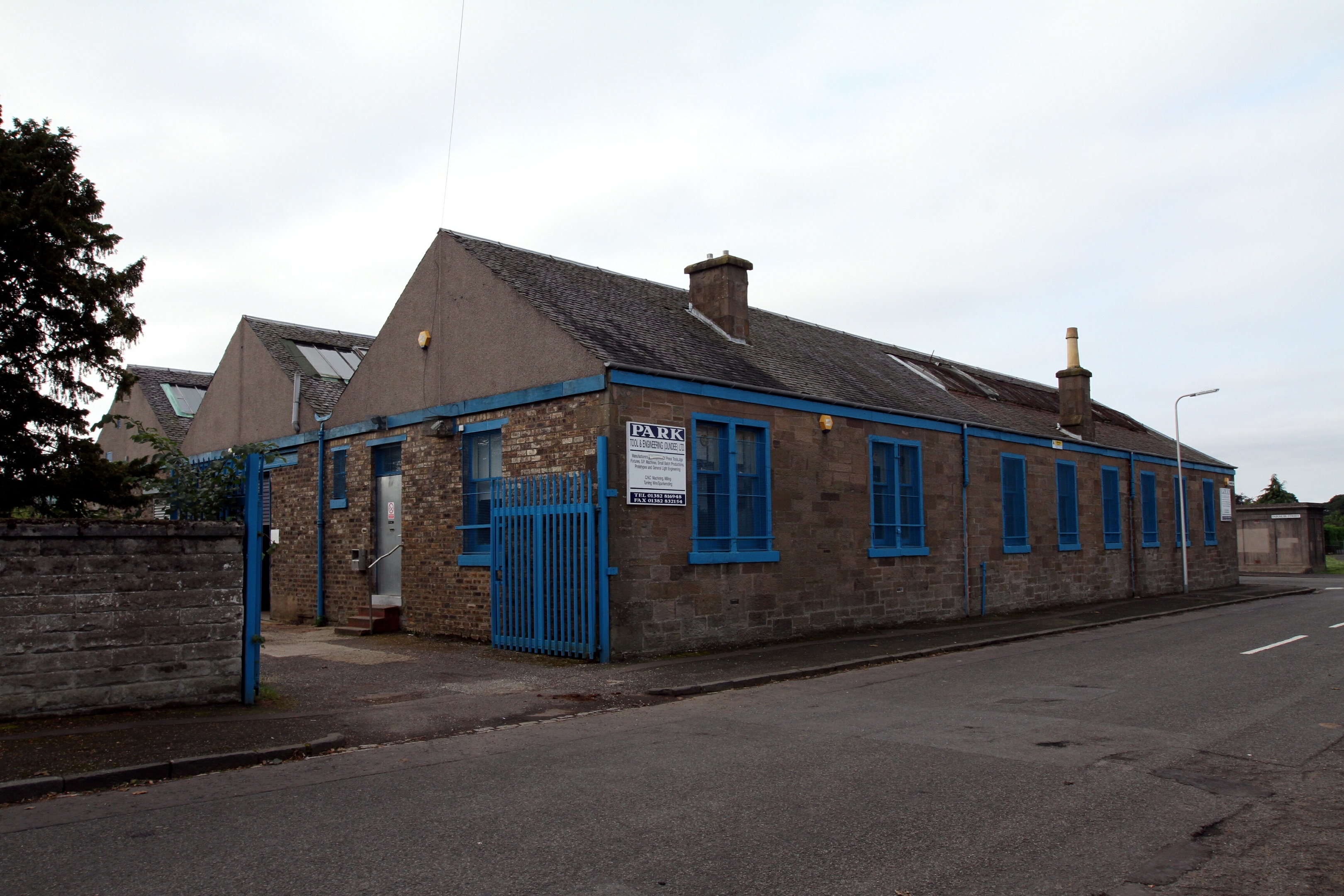 The company's premises on Fairmuir Street