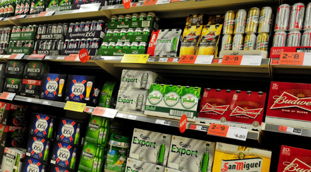 Ewan Gurr believes restrictions on advertising alcohol will not solve the underlying problems people with drink issues face.