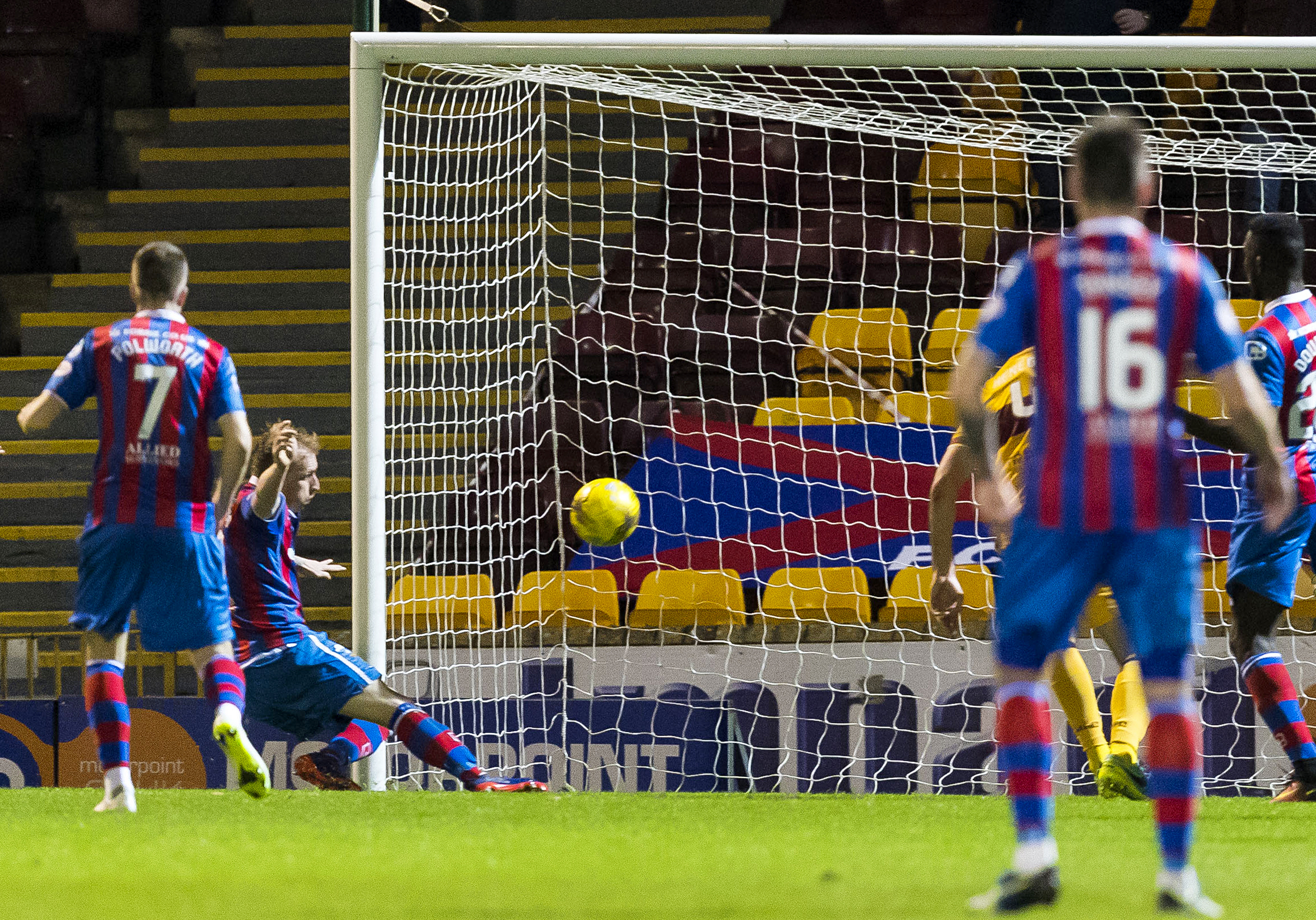 Inverness's Carl Tremarco opens the scoring