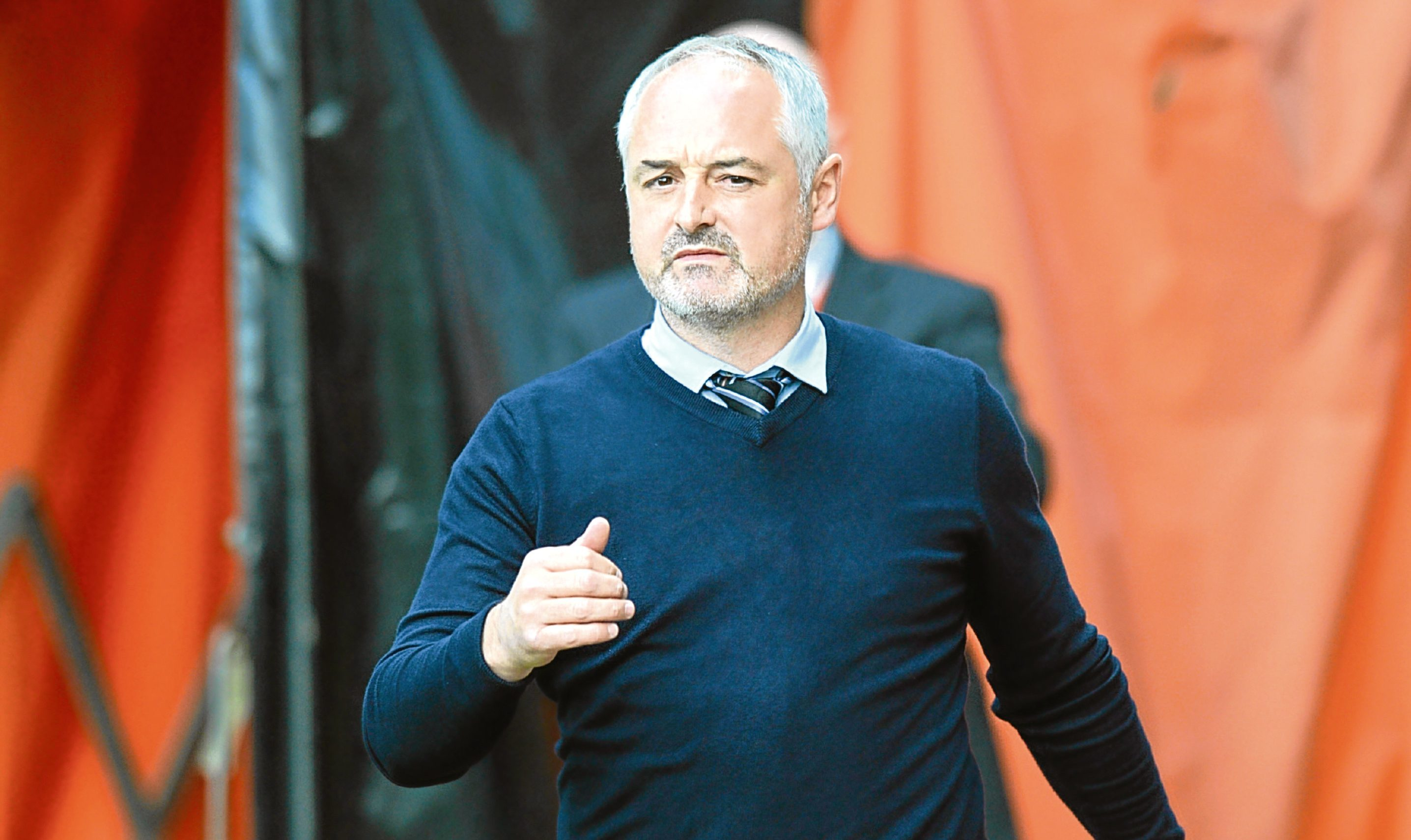 Dundee United manager Ray McKinnon is confident his side can get back into the Premiership