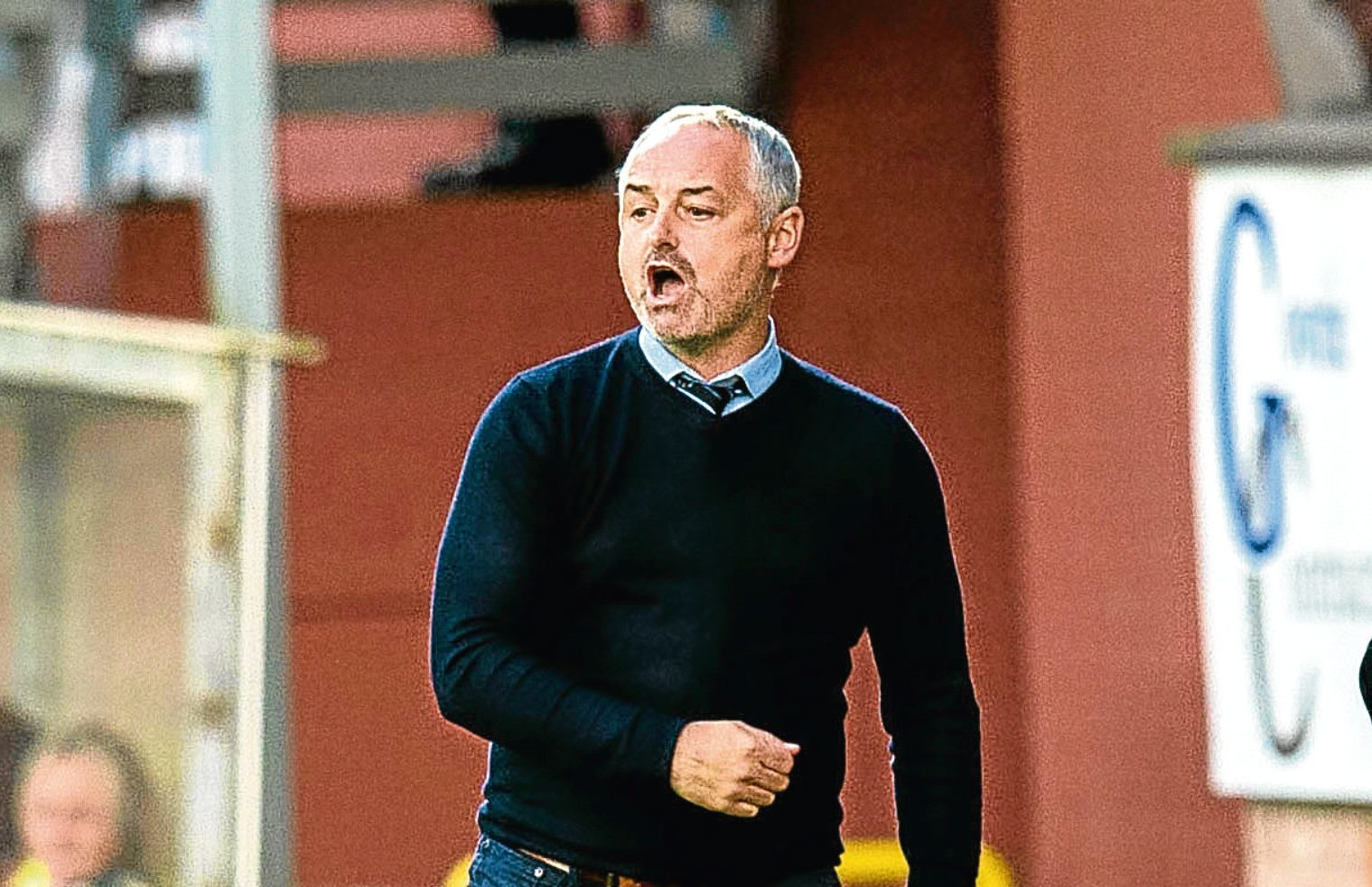 Dundee United manager Ray McKinnon.