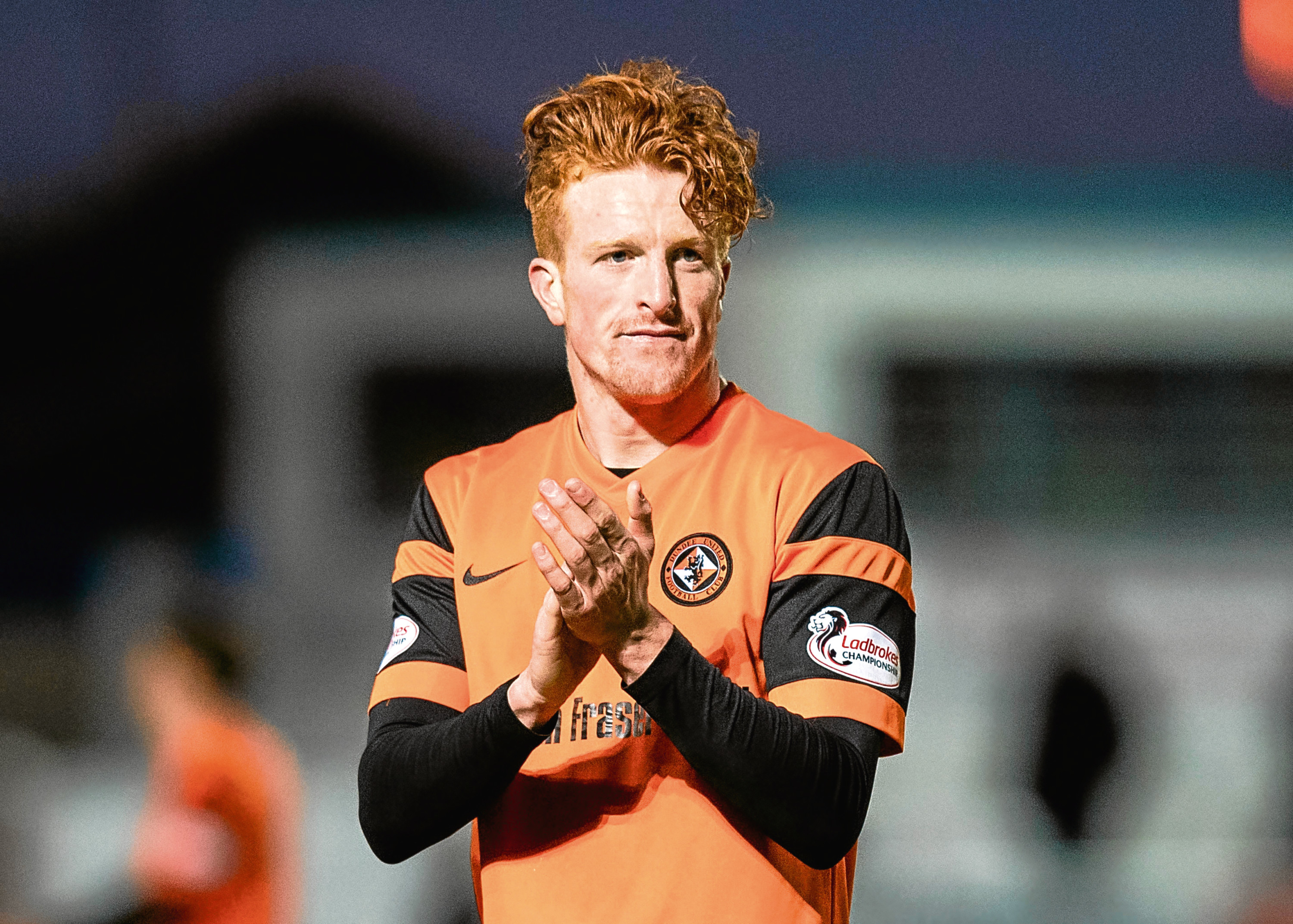 Simon Murray hopes to keep his starting place for Dundee United and  continue his 100% scoring record against visitors Dunfermline tonight.