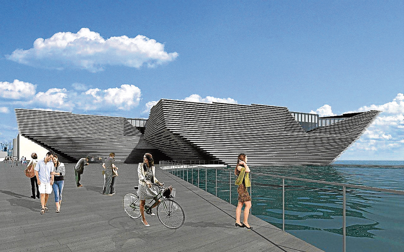 ZMMA Ltd has won a contract to design a major part of the V&A Museum in Dundee.