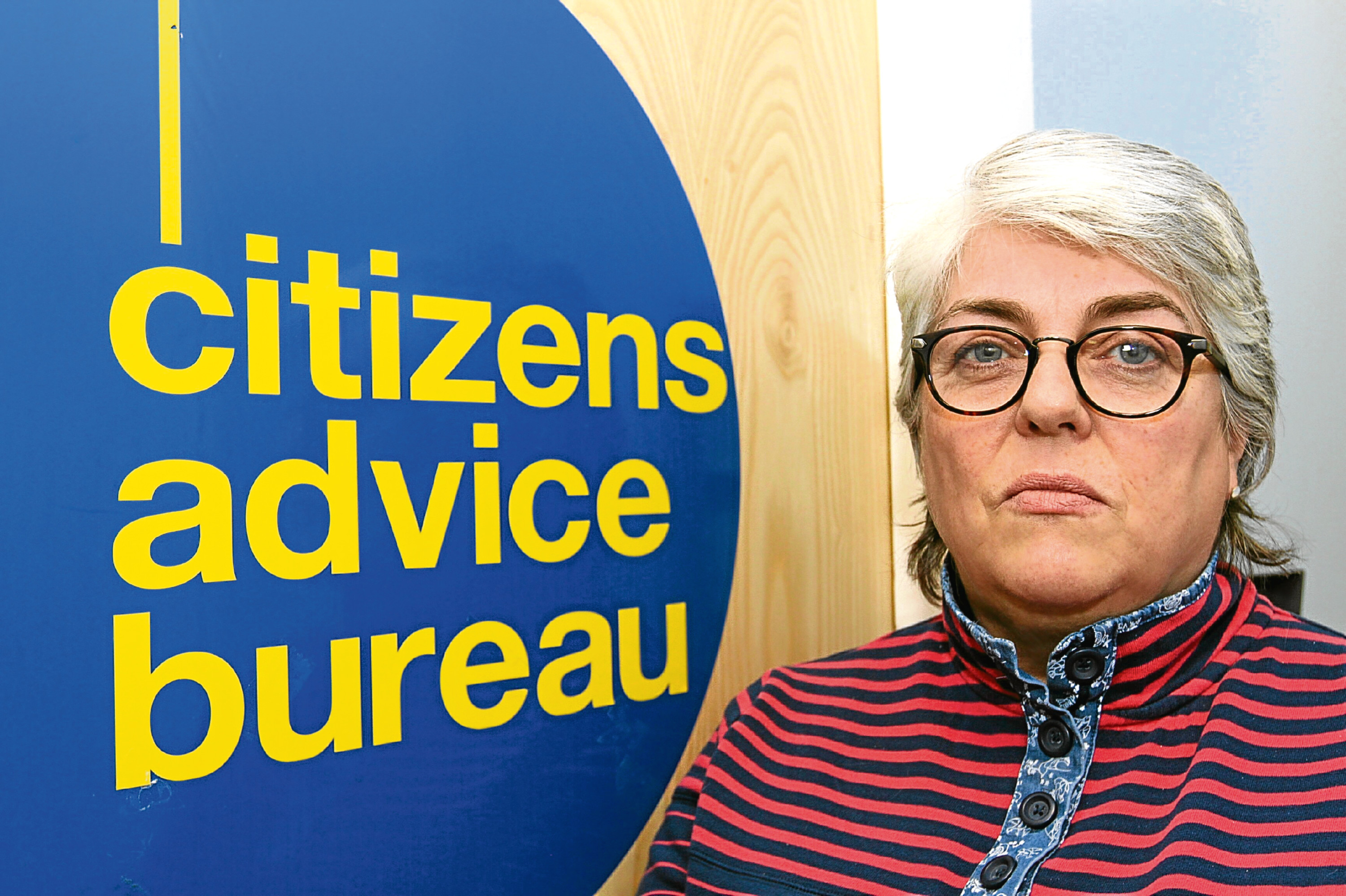 Ms Kinninmonth, director of the Dundee Citizens Advice Bureau.
