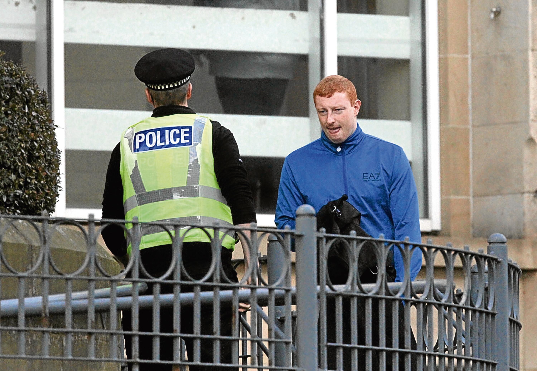 Bradley Forsyth at Dundee Sheriff Court.