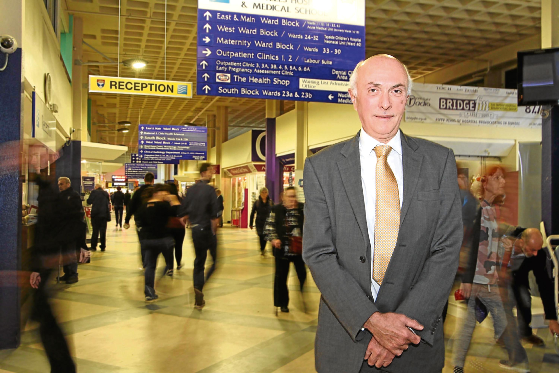Professor John Connell at Ninewells Hospital