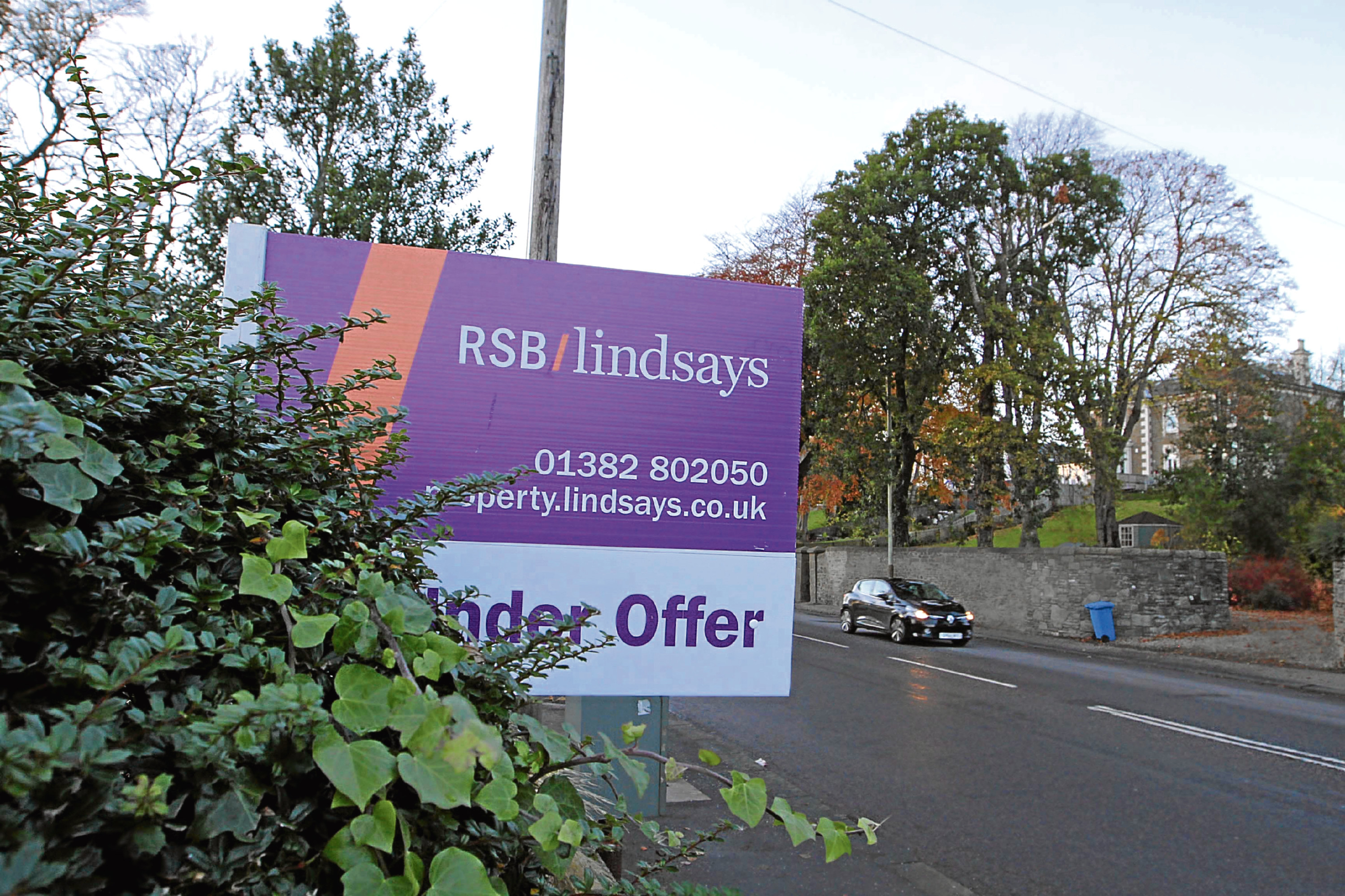 Demand is exceeding supply in the Dundee property market.