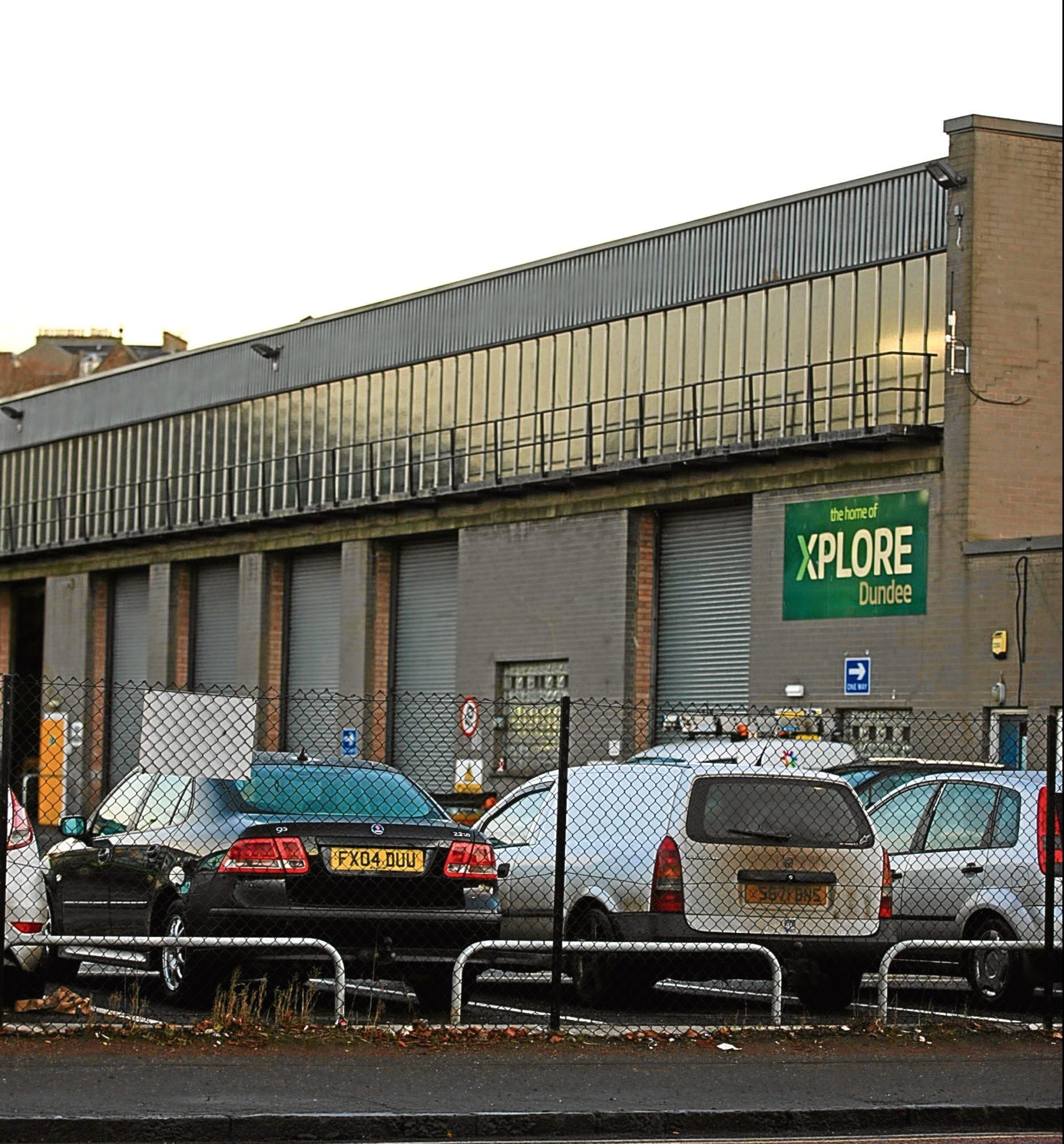 Xplore's Dundee Depot in Dock Street