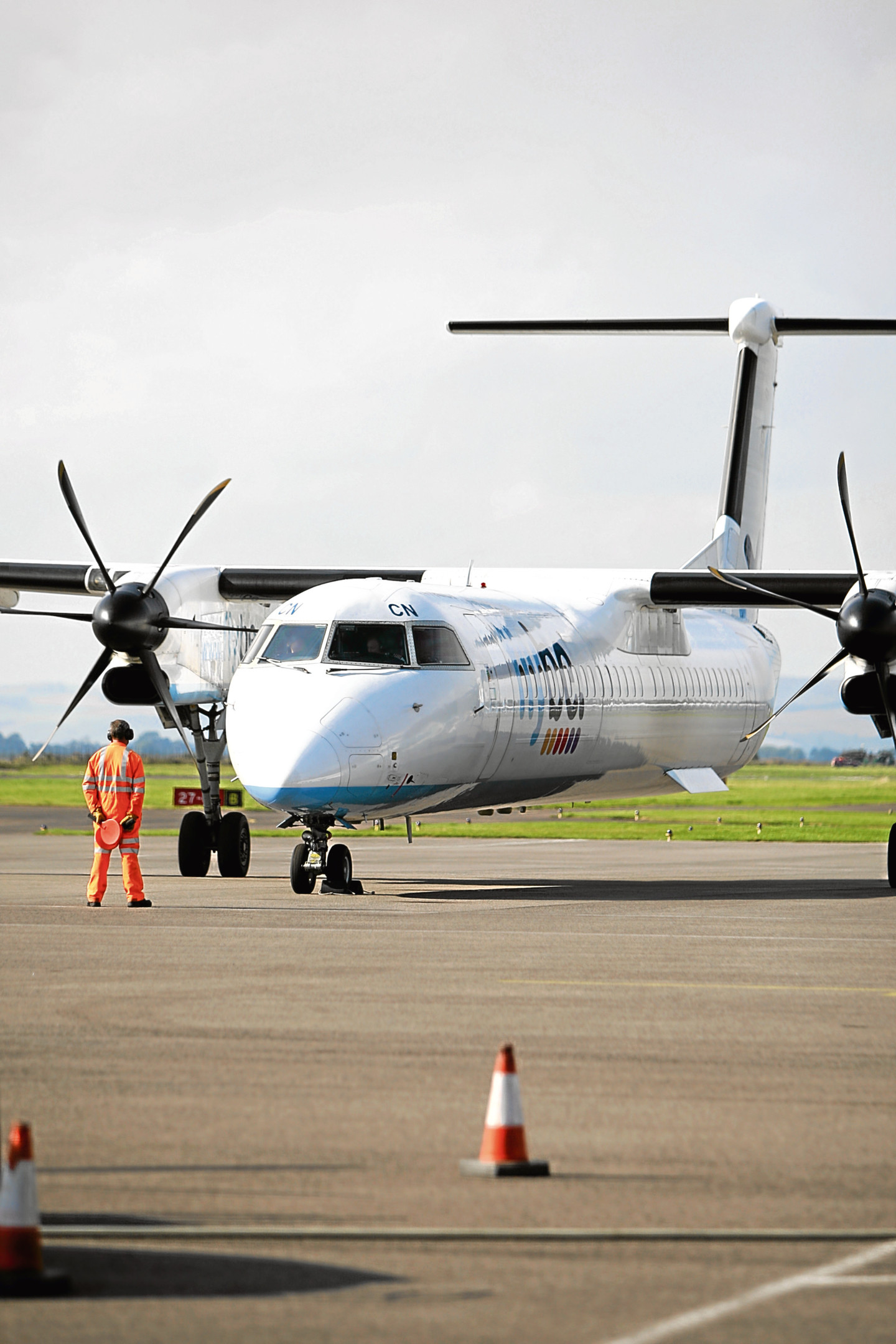 Flybe's flights to Amsterdam will go from Edinburgh beyond Christmas.