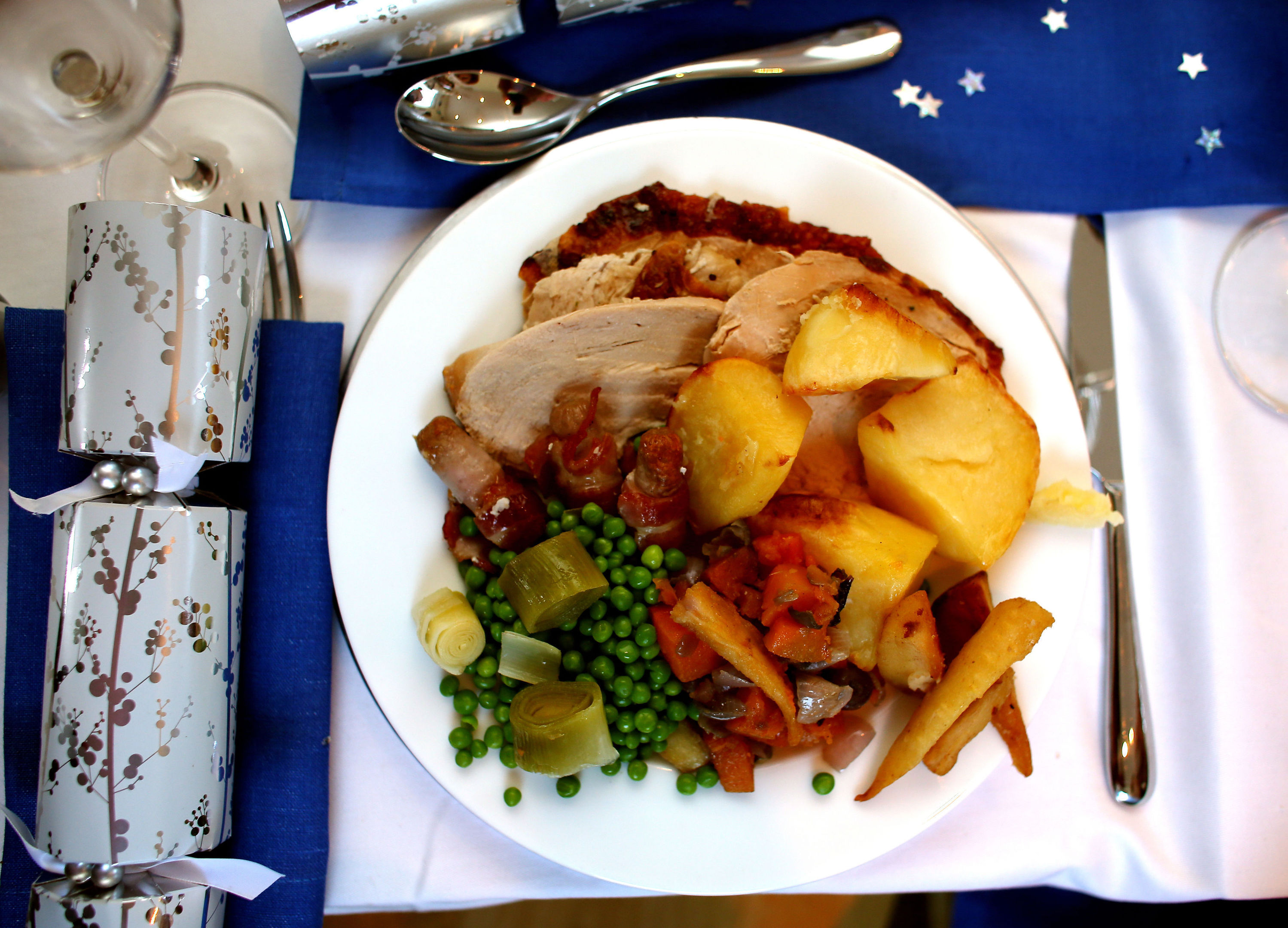 The cost of a Christmas dinner has dropped more than 10% since 2009
