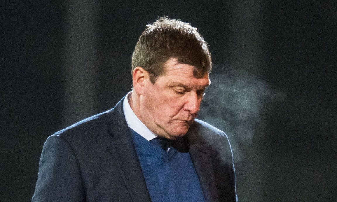Tommy Wright was not happy with his sides display