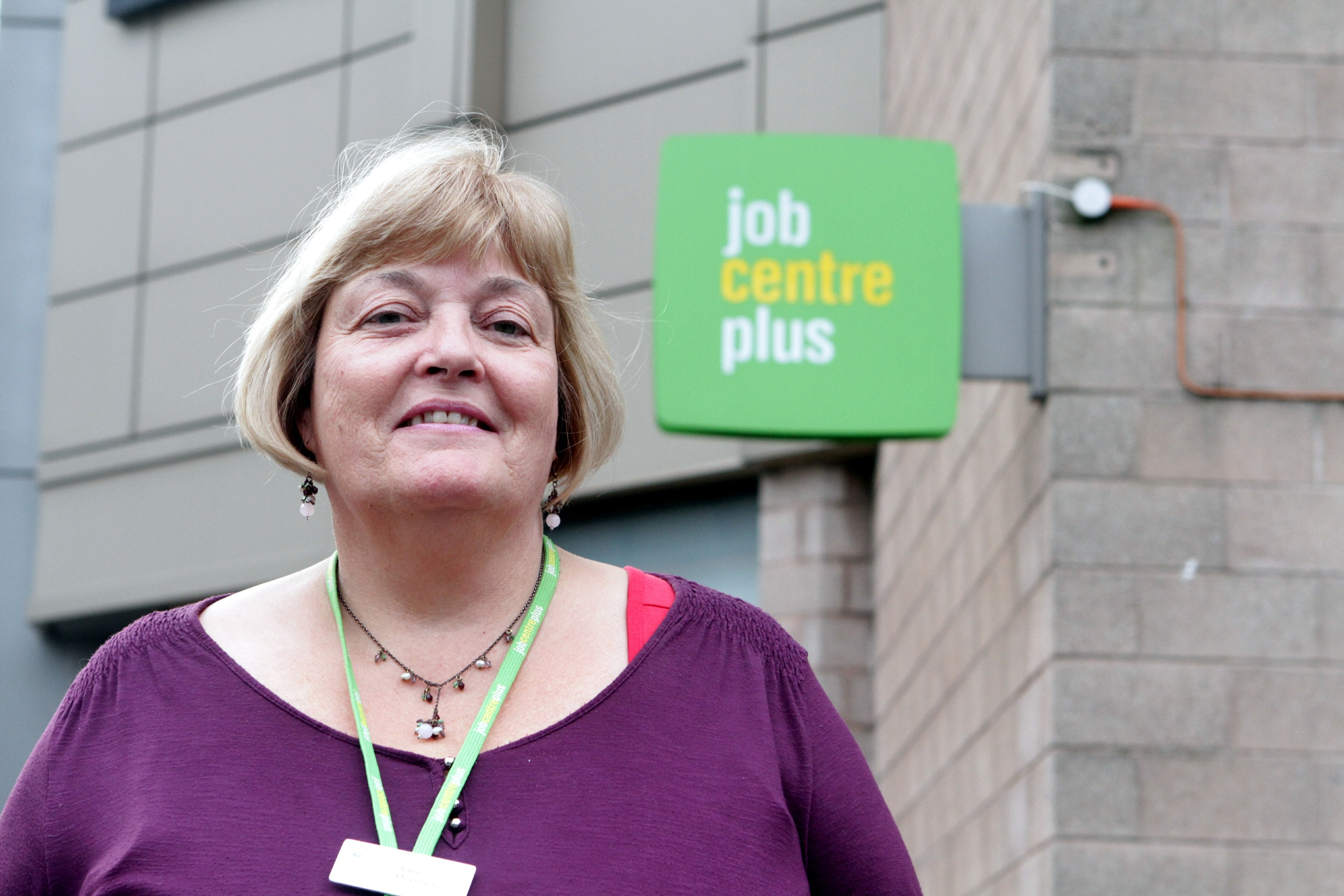 Jane McEwen, of Dundee's Jobcentre Plus
