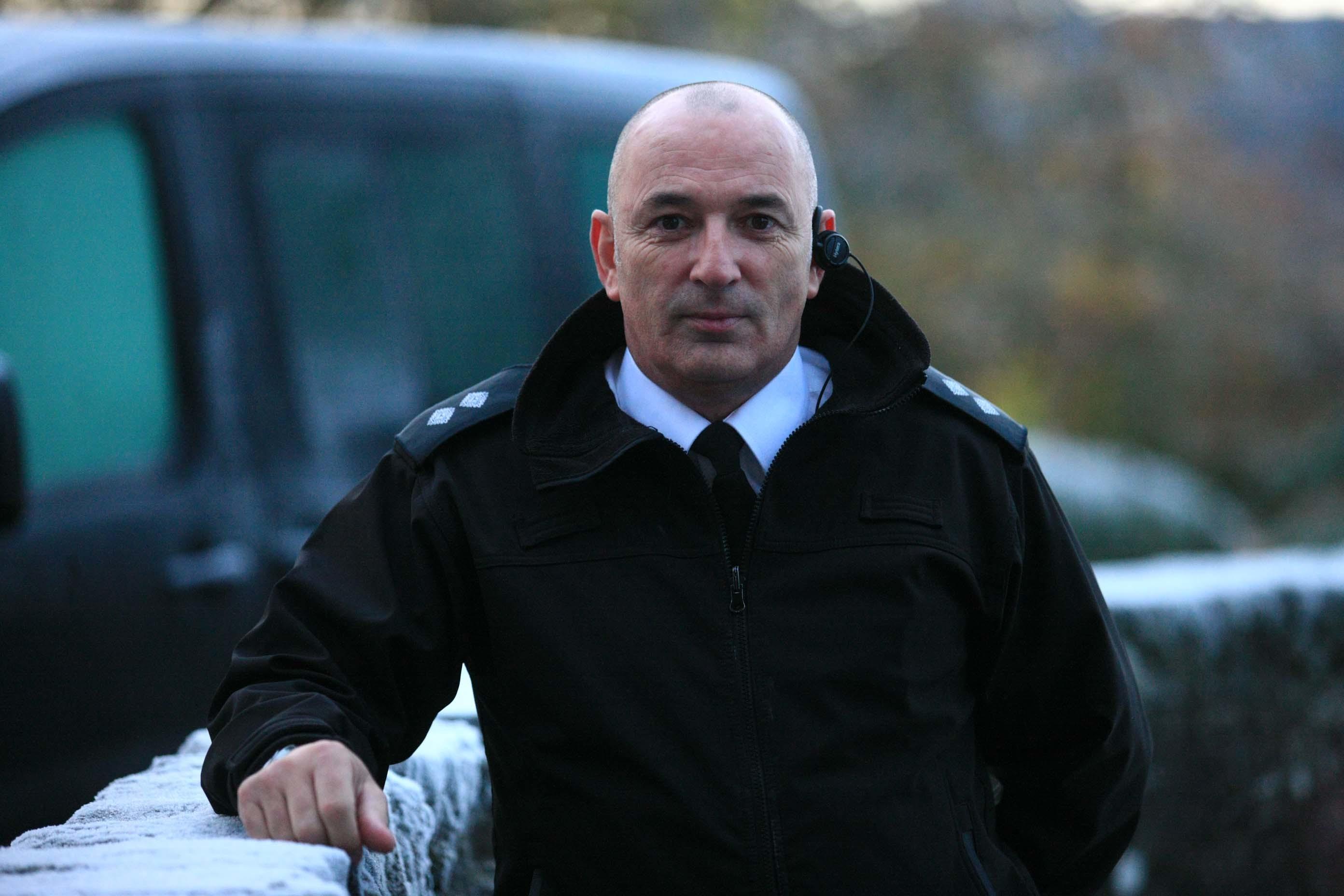 Public Protection Unit Manager Graham Tait.