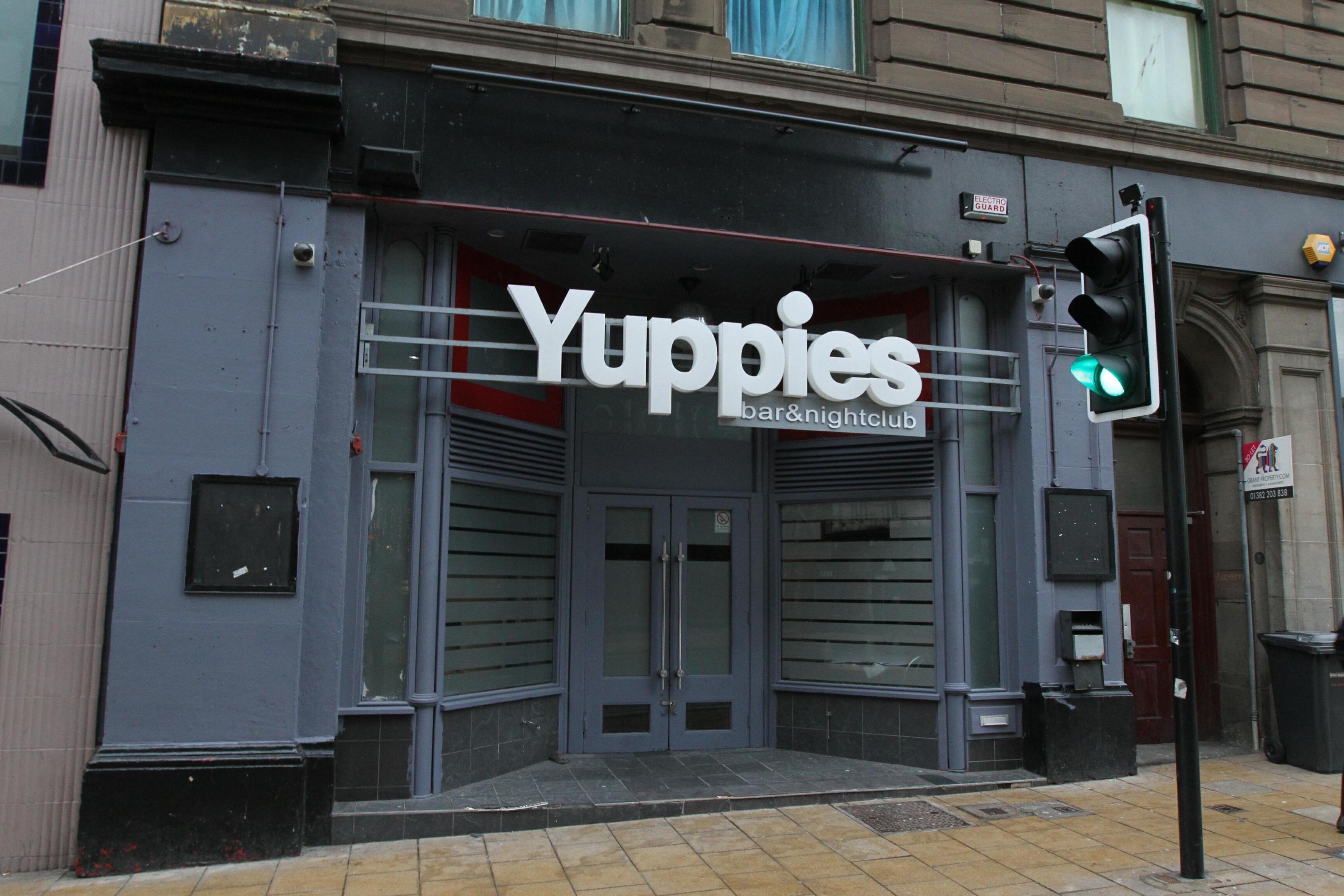 The then-Yuppies nightclub