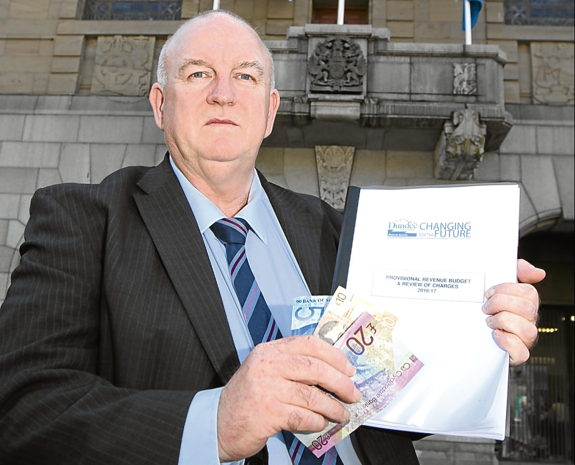 Kevin Keenan wants to see more cash collected from residents.