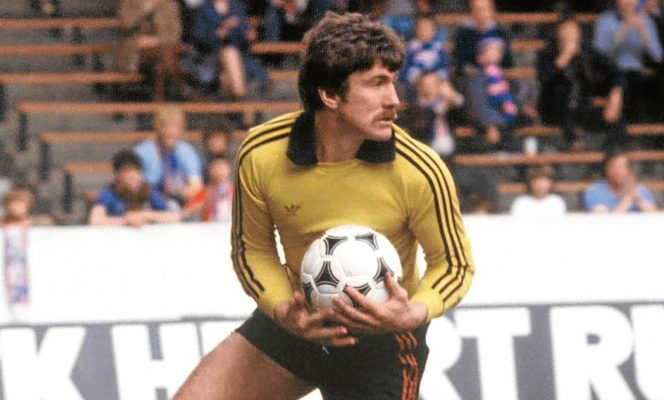 Hamish McAlpine made 688 appearances in the goal for Dundee United.