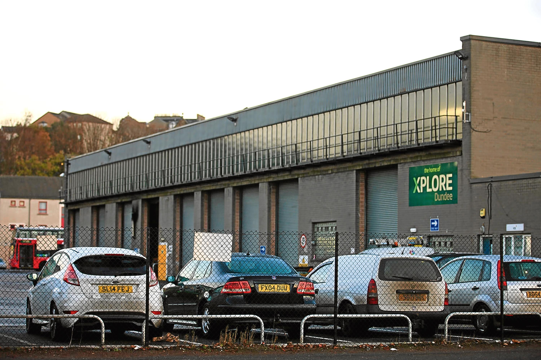 Xplore's East Dock Street depot
