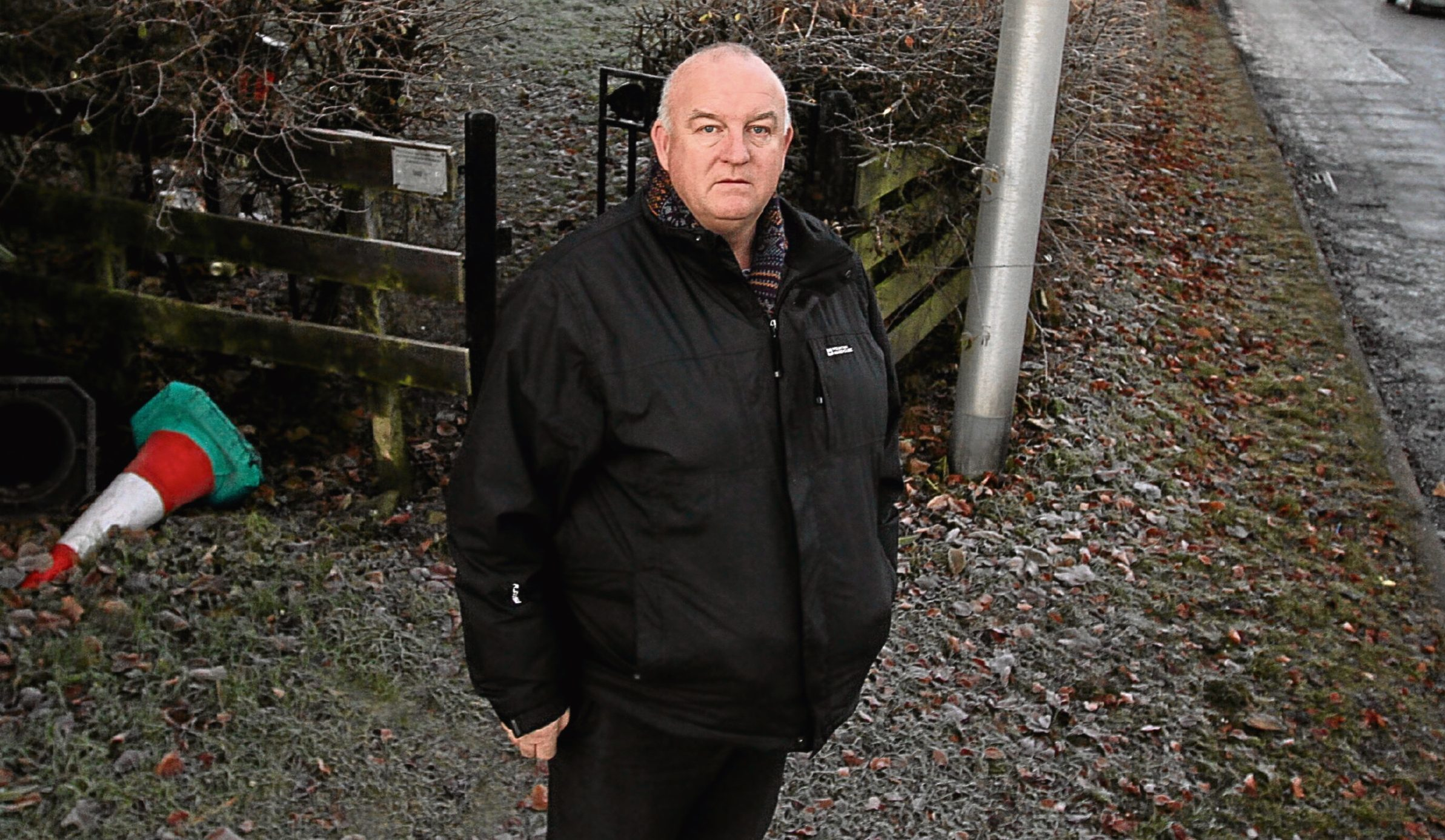 Councillor Kevin Keenan believes the dumped needles pose a risk of spreading infection.