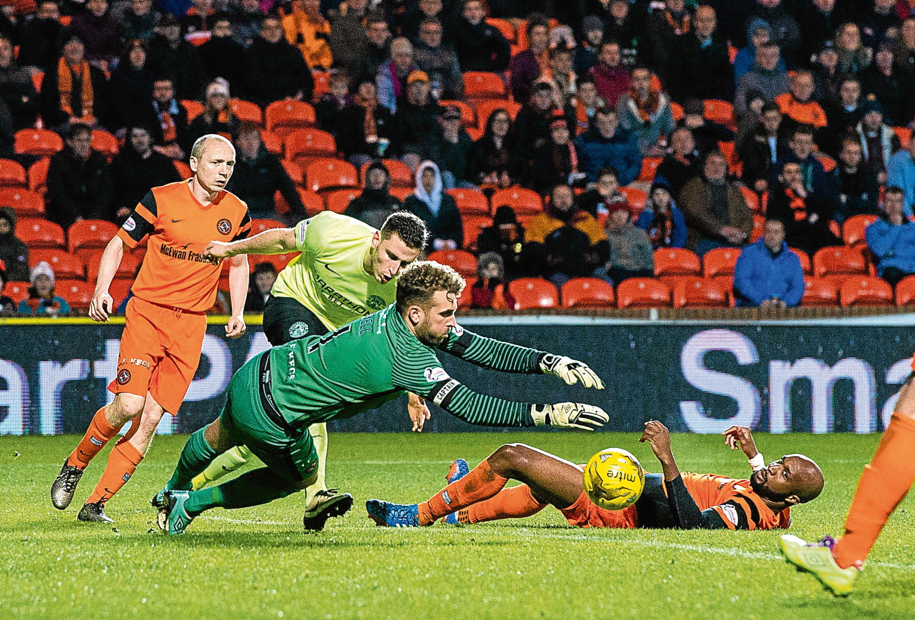Dundee United have a tough spell ahead with four away games in their next five Championship fixtures including a trip to Easter Road to face Hibs — the side the Tangerines beat 1-0 on Friday.