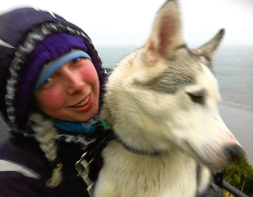 The body of Rebecca, 26, was found in the Finnish village of Kuttanen on Saturday.