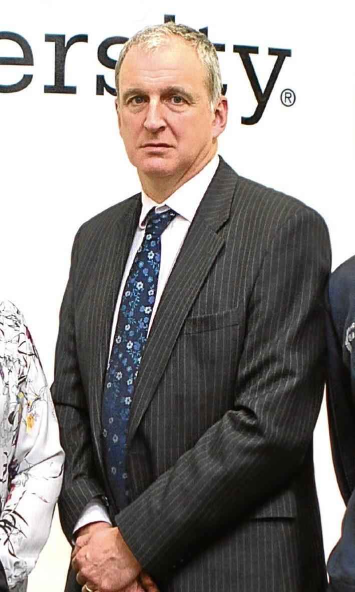 Professor Nigel Seaton, principal of Abertay University