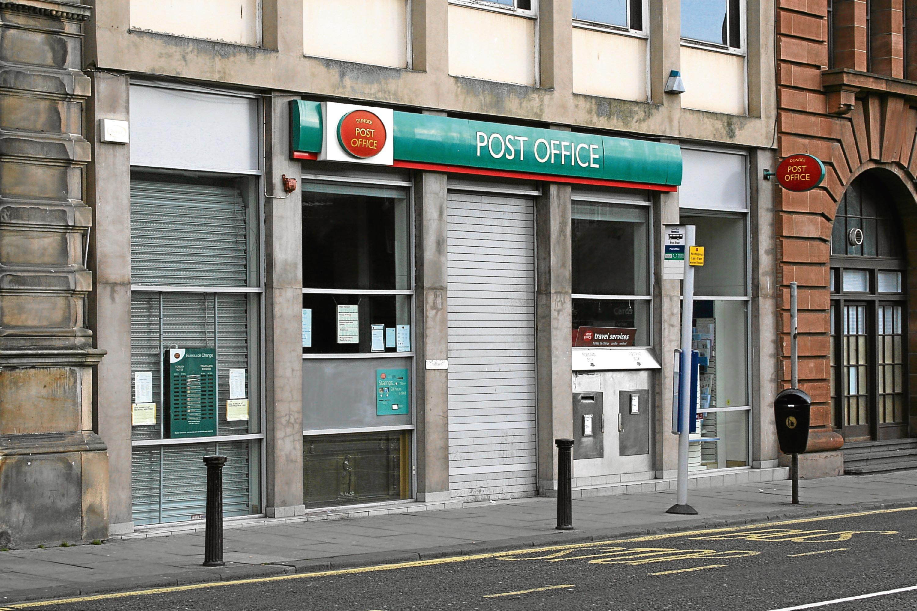Staff at the post office at Meadowside are likely to join strike action next week.