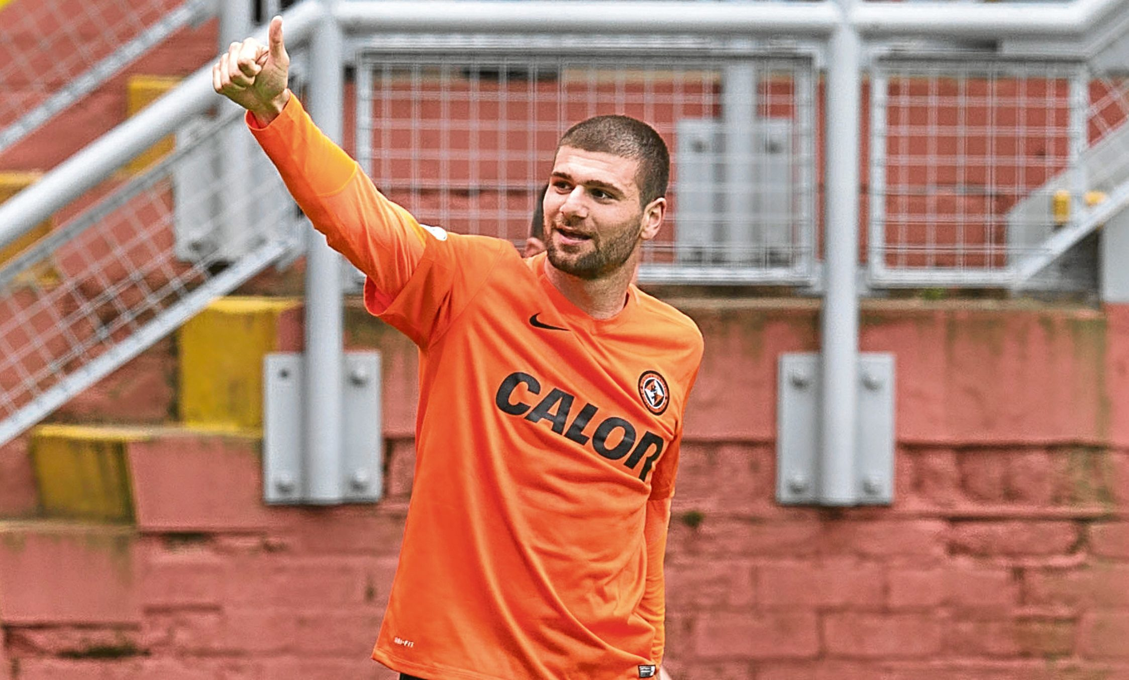 Nadir Ciftci during his United days.