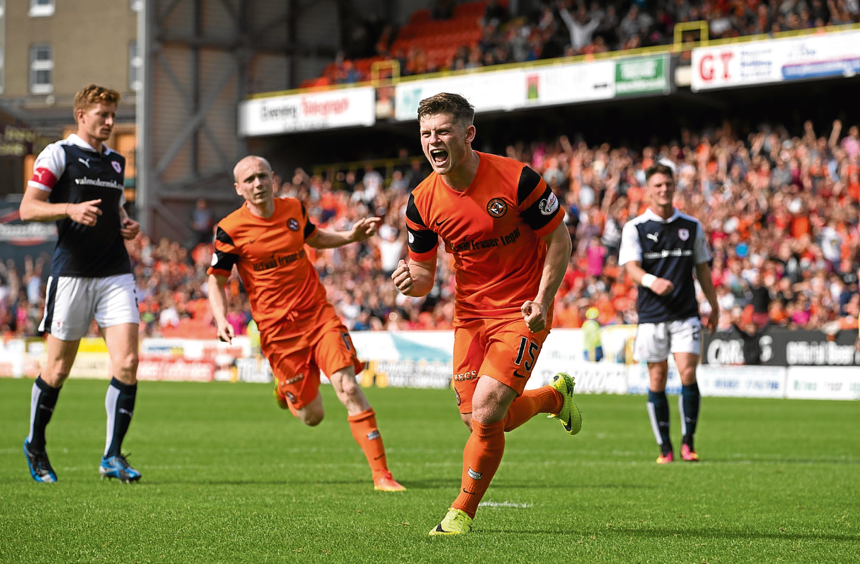Stewart Murdoch knows his side must be at their best against Raith Rovers and not slip up again like back in August after Cammy Smith put Dundee United (pictured) 2-0 up.