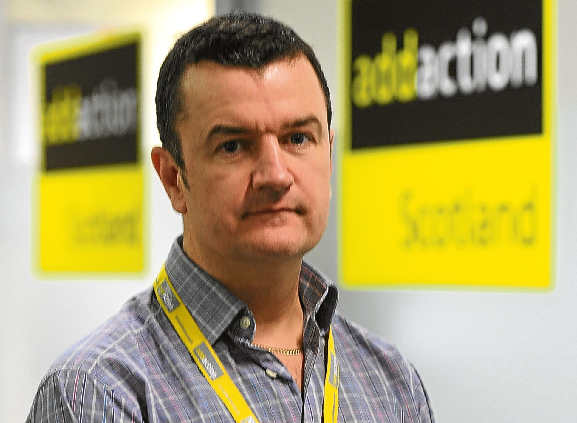 Dave Barrie, service manager at Addaction.