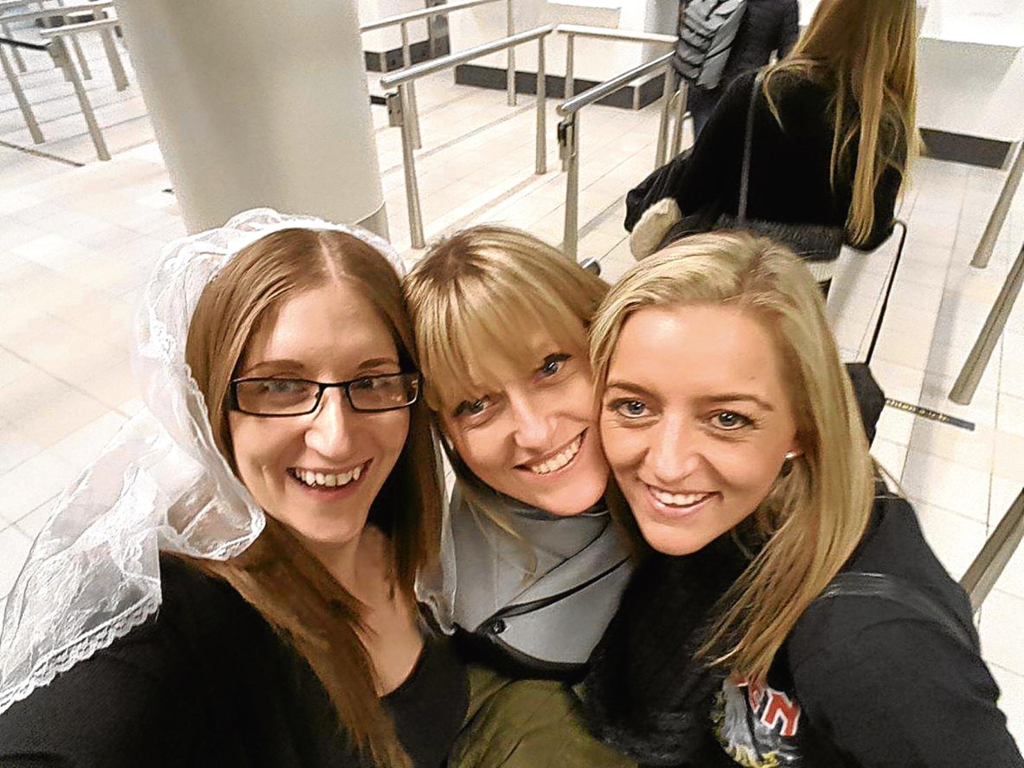 Nicky crooks, Gillian McAuley, Kerri Fleming (left to right)