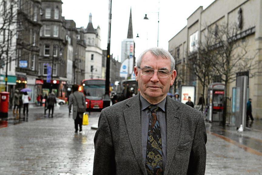 Dundee City Council leader Ken Guild