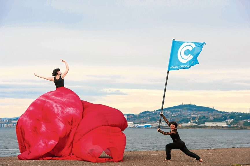 Events held to mark the launch of Dundee's City of Culture bid back in 2013.