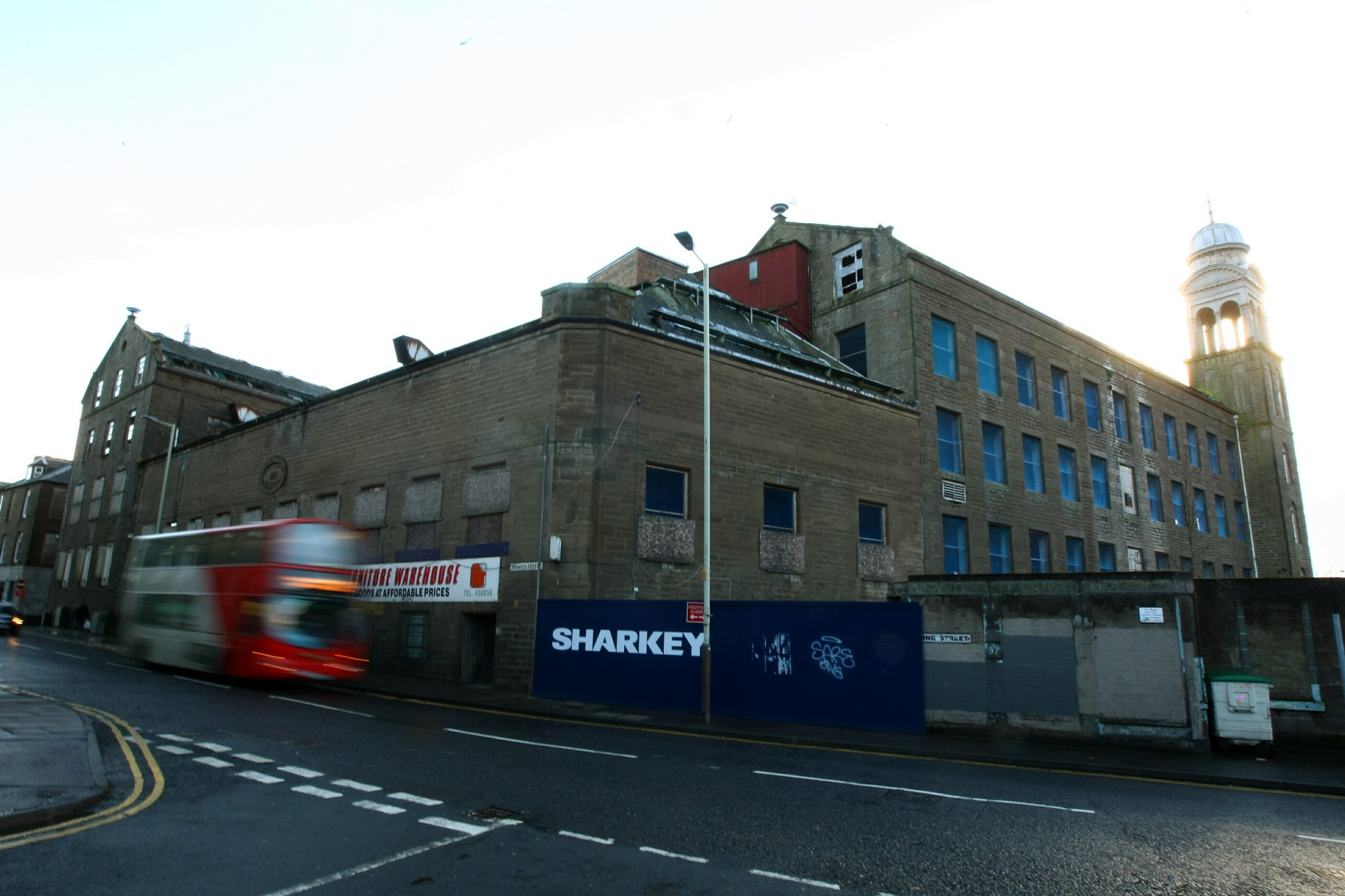 The former mill on Princes Street will be turned into an Indigo Hotel.