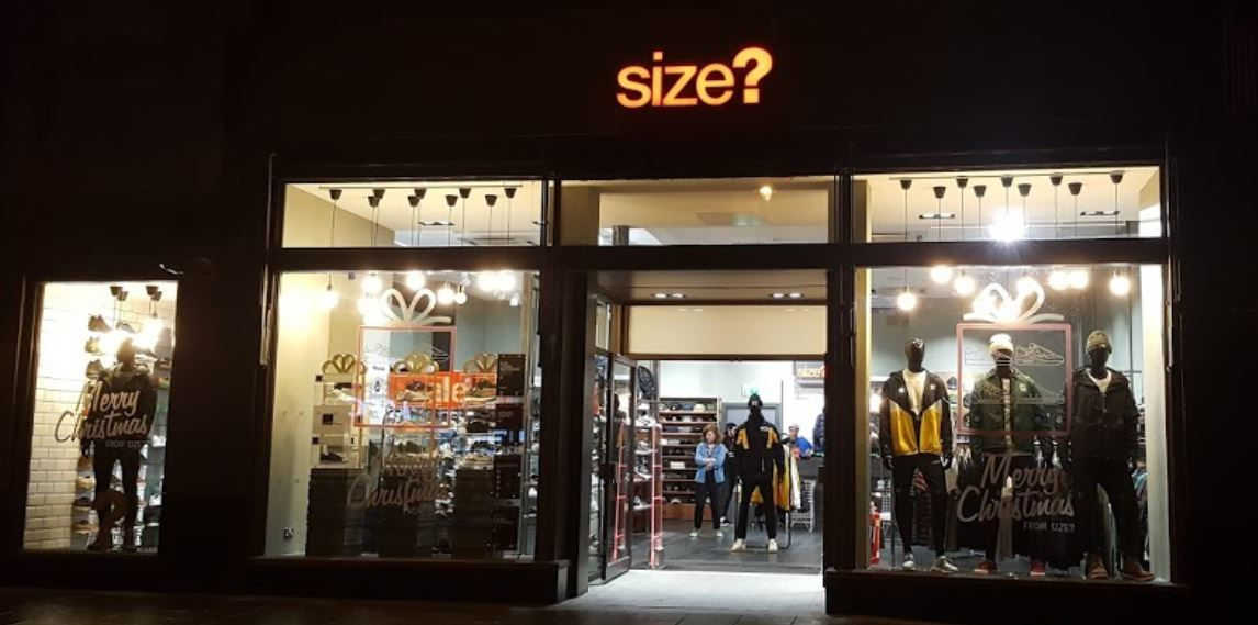 Size? is now on the market.