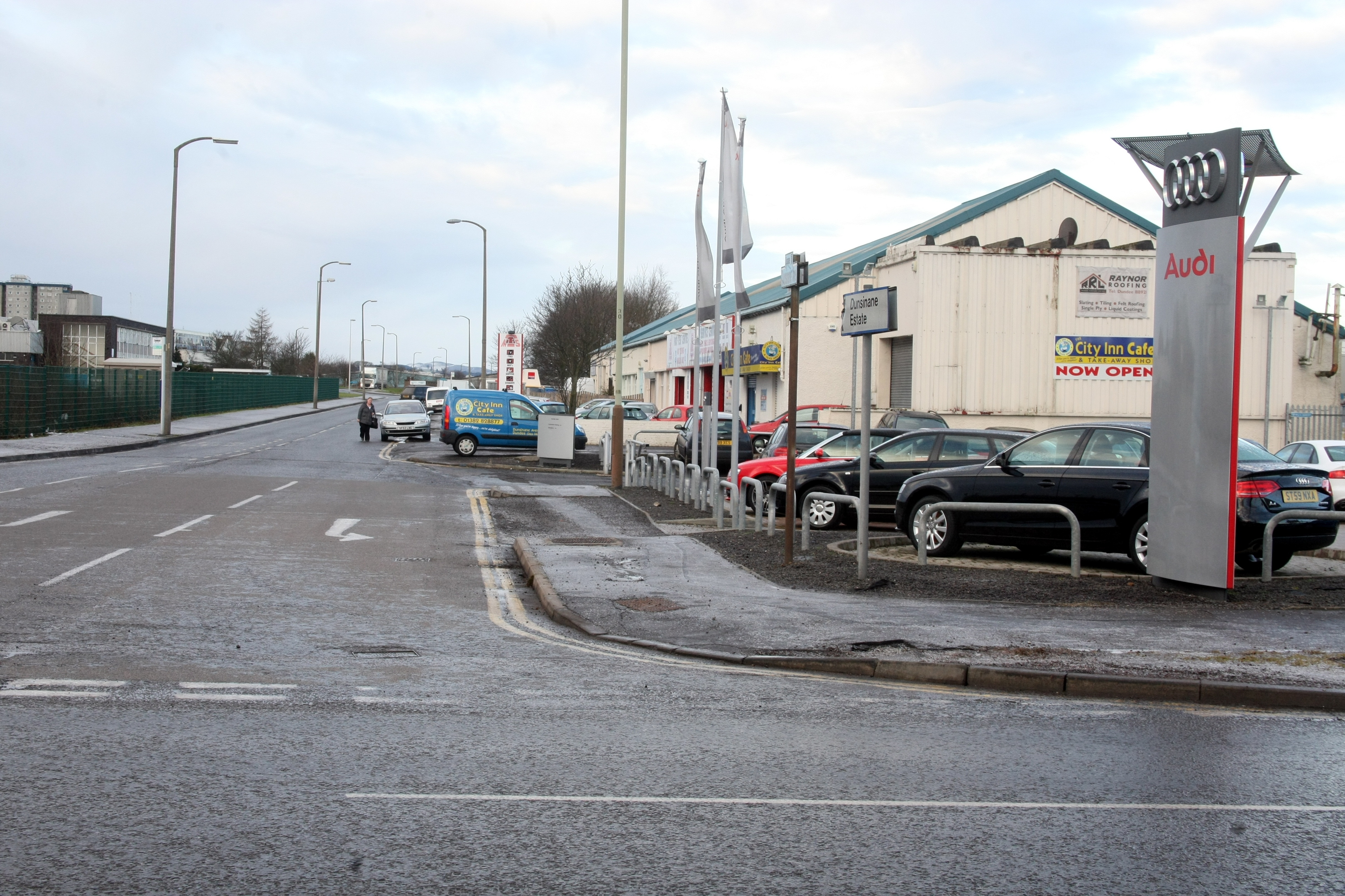 Dunsinane Avenue (stock image)
