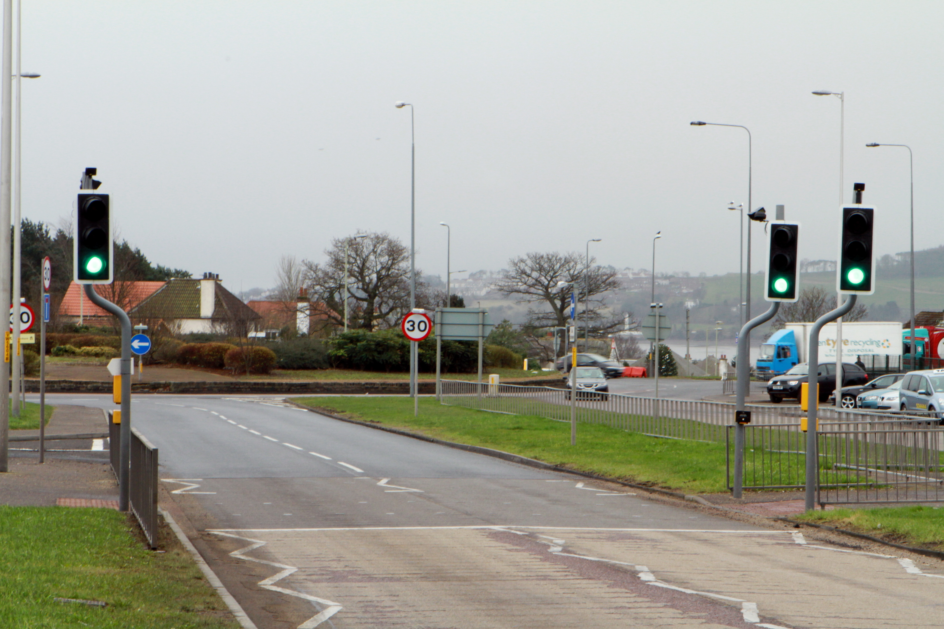 The Scott Fyffe roundabout (stock image)