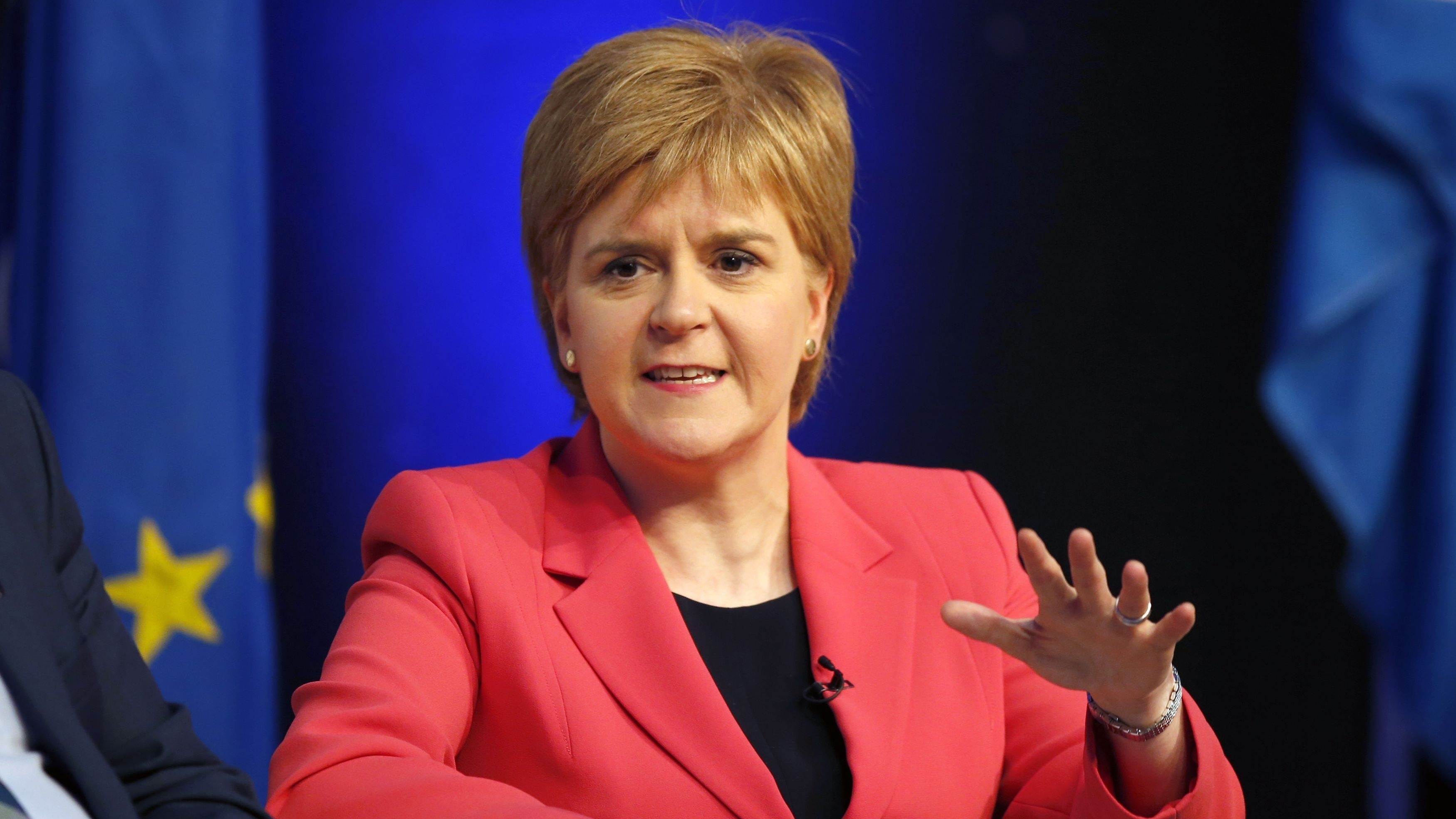 The Scottish First Minister appeared on the Andrew Marr Show.
