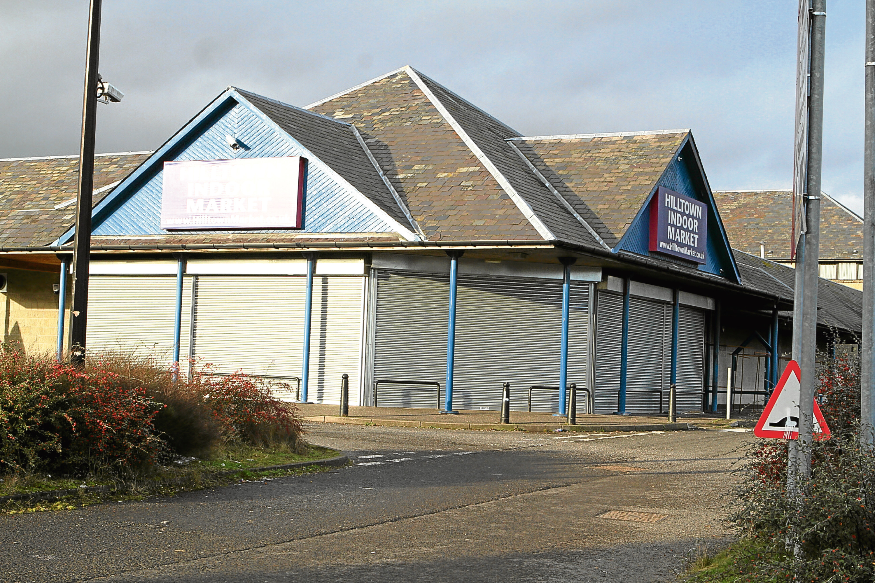 Hilltown Indoor Market has been shut in recent months.