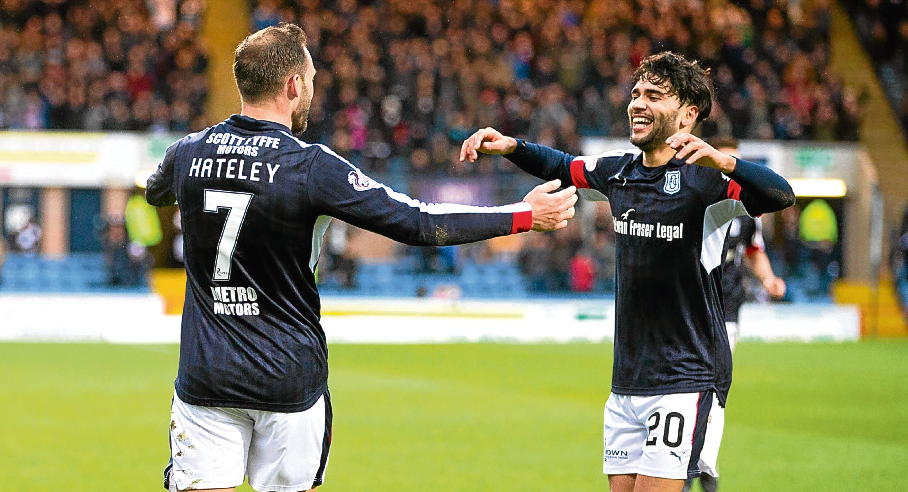 Since signing for Dundee in the summer, Faissal El Bakhtaoui has taken time to adapt to Premiership life but scored in the 3-0 win over St Johnstone.
